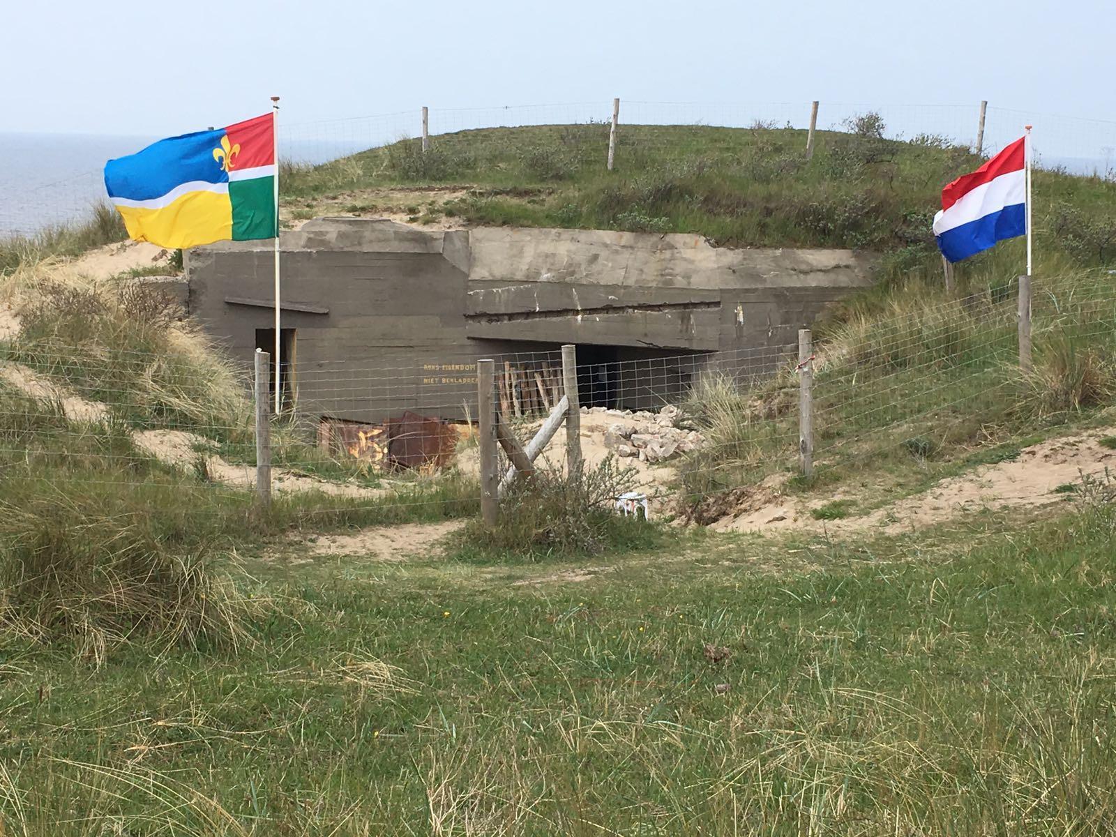 Bunkers van de Atlantikwall in Wijk aan Zee gaan voor het eerst dit jaar weer open voor publiek