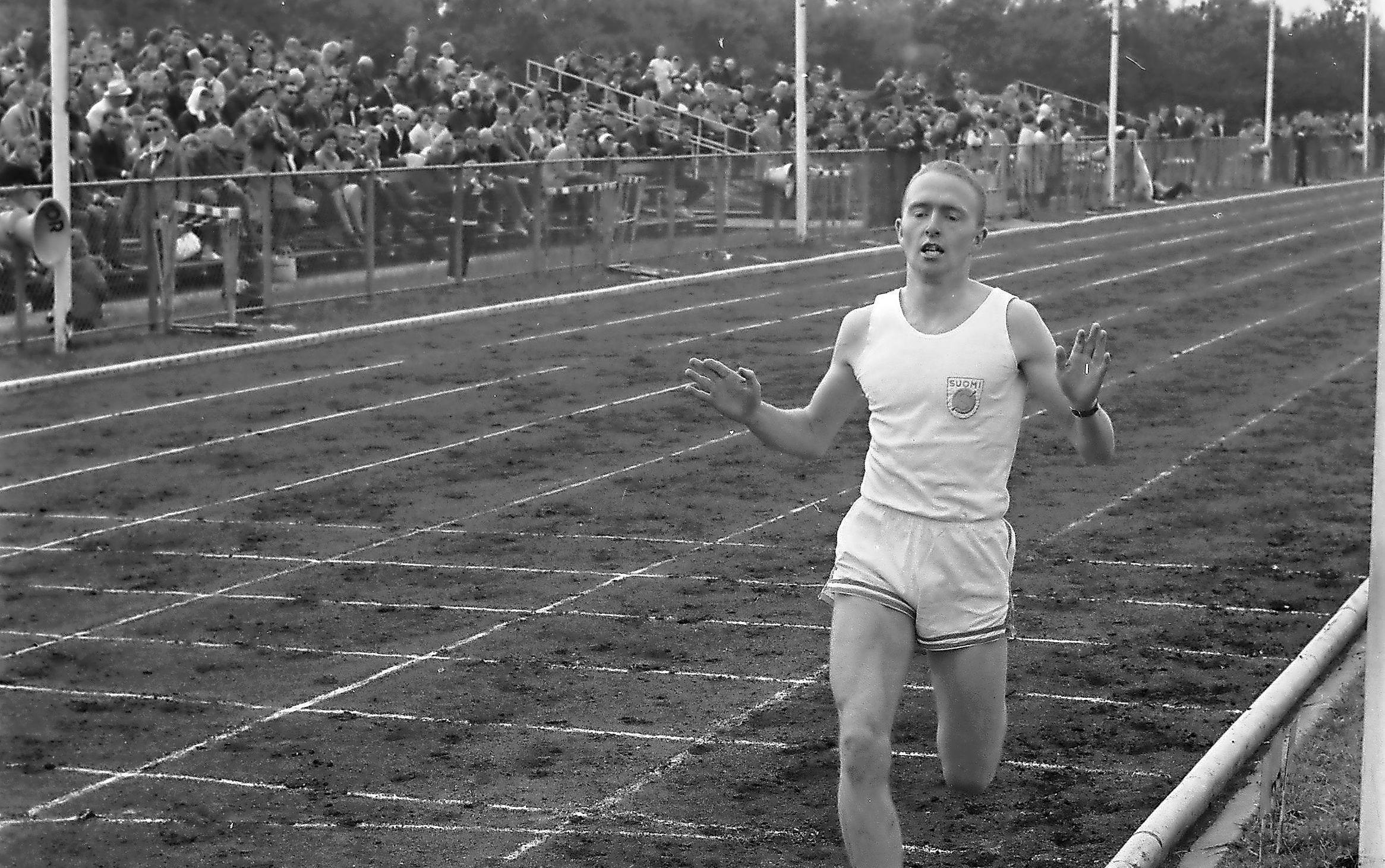 Draver Yellowa en voormalig nationaal kampioen atletiek Ton Blok (1944-2021) bleken een succesvolle combinatie