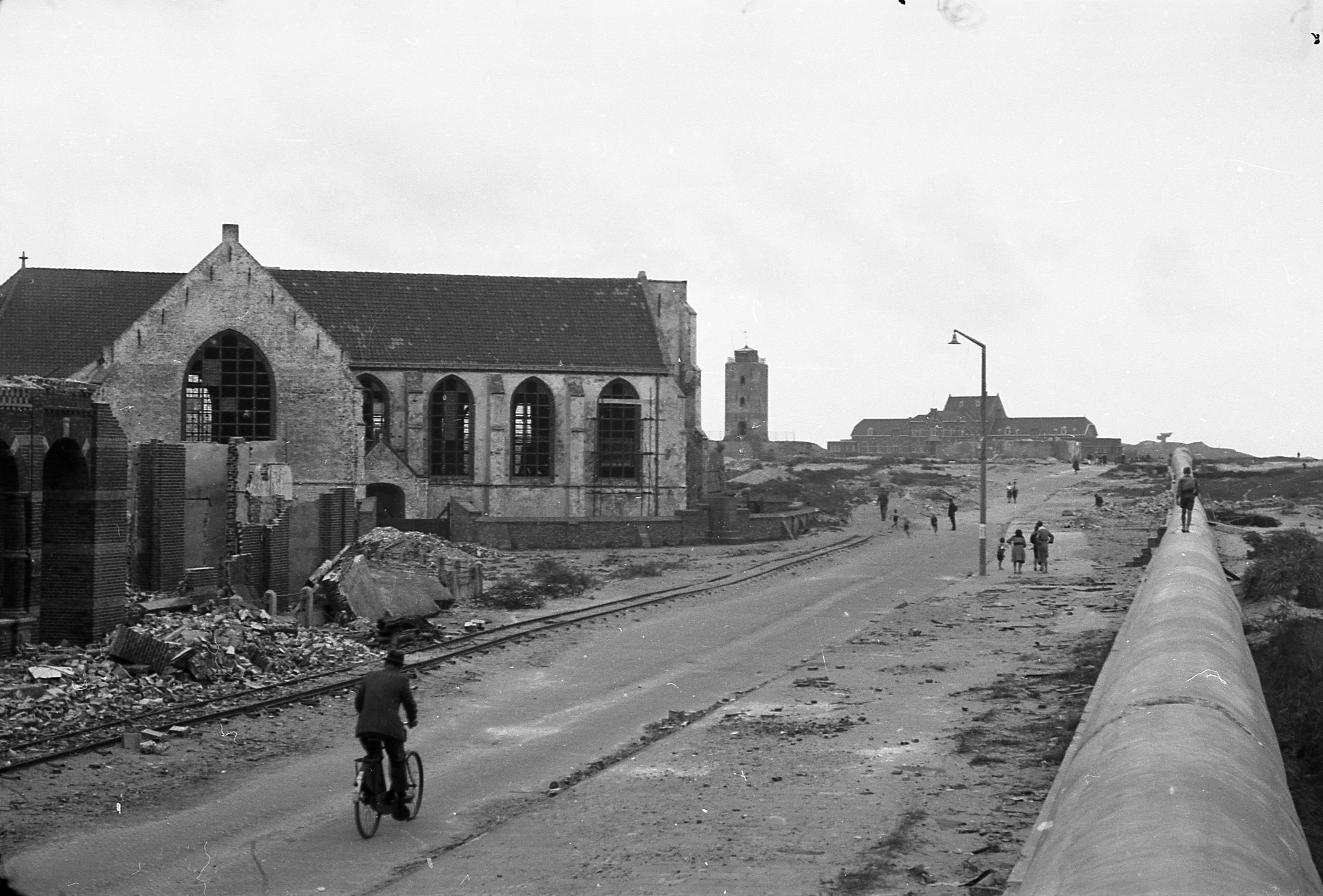 Tweede Wereldoorlog door Katwijkse kinderogen: lesbrief om leerlingen bewust te maken van sporen in eigen dorp