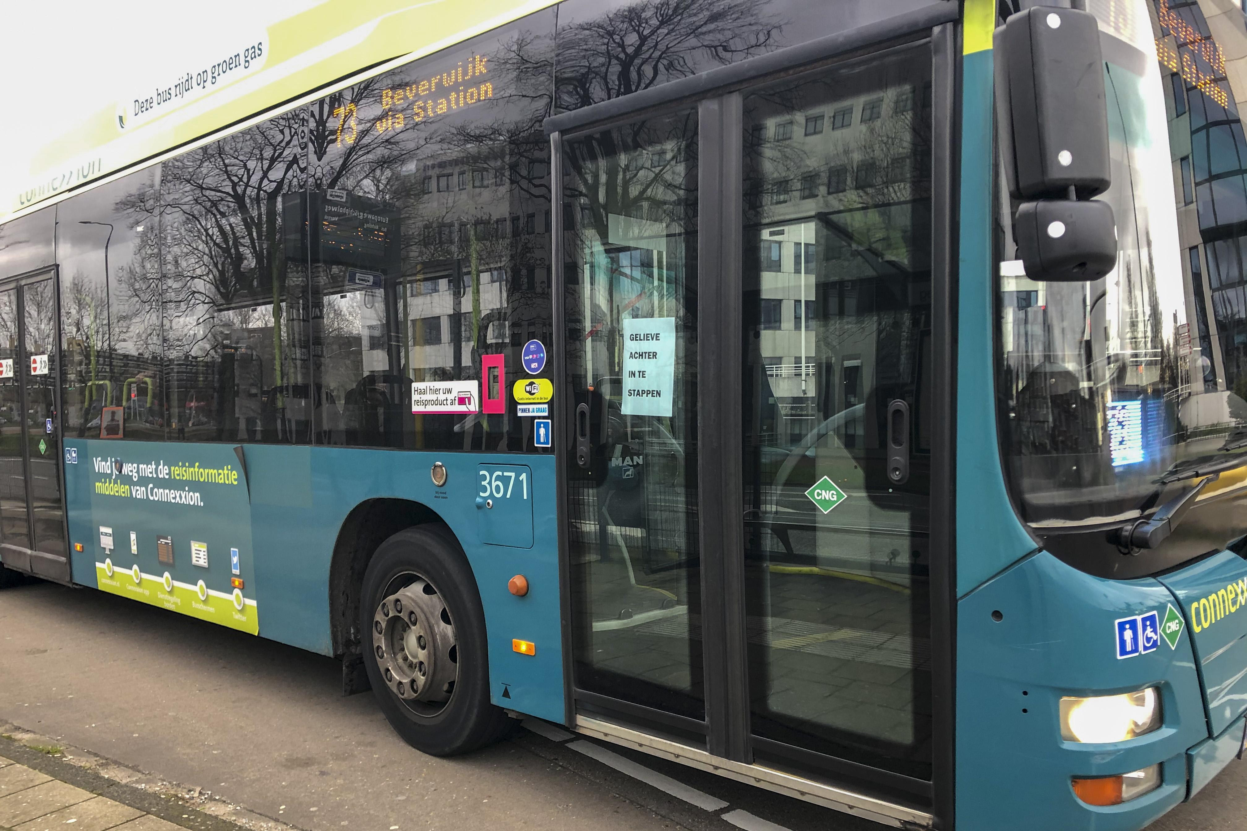 Onvrede over gebrek aan goede voorlichting Connexxion-bussen