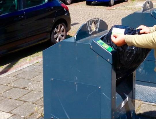 Innoverend Beverwijk komt met de 'zwerfvuilklep' in afgesloten ondergrondse afvalcontainers. Deze test begint na de zomer met tien containers en duurt een jaar