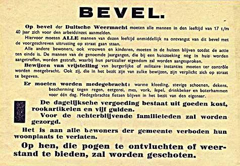 In 1944 roofde de Zaanse illegaliteit alle bevolkingsregisters in de Zaanstreek om 'Arbeitseinsatz' te voorkomen [Oorlogsherinneringen]