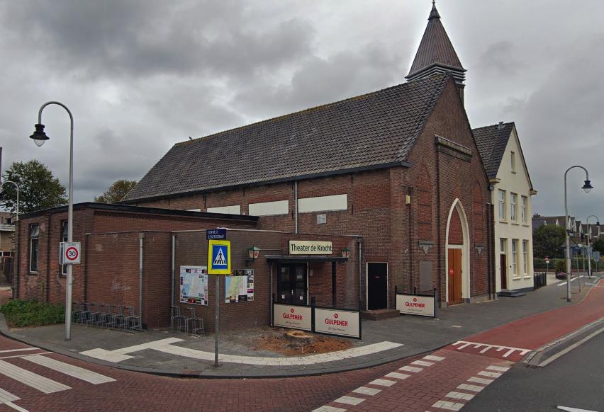 Eindelijk begin opknappen theater De Krocht in Zandvoort