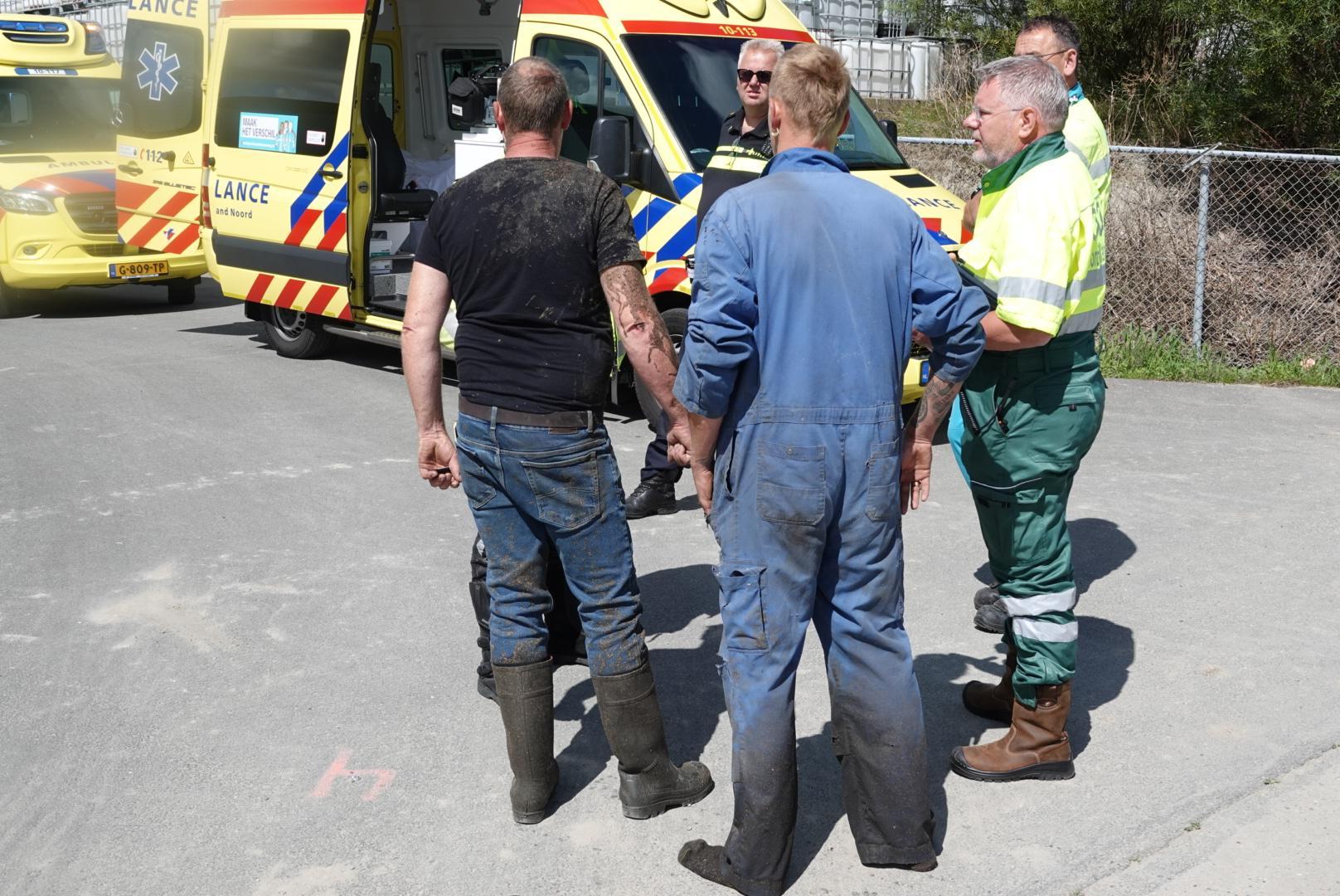 'Bedwelmd door de stank van rotte eieren en ammoniak'; varkensstront stroomt bij Van der Stelt uit silo door defect