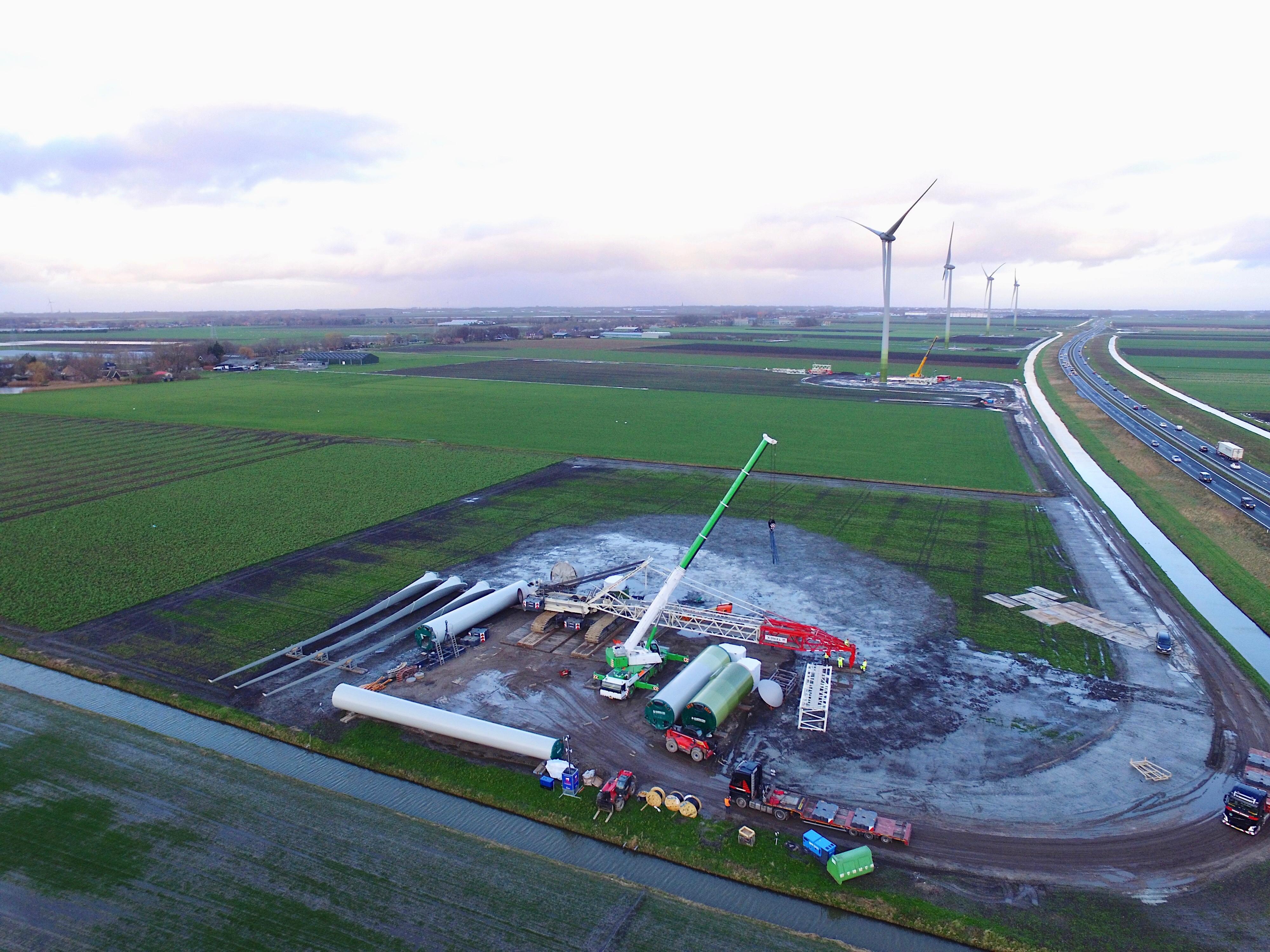 'Alle verhoudingen zoek' door windpark Westfrisia