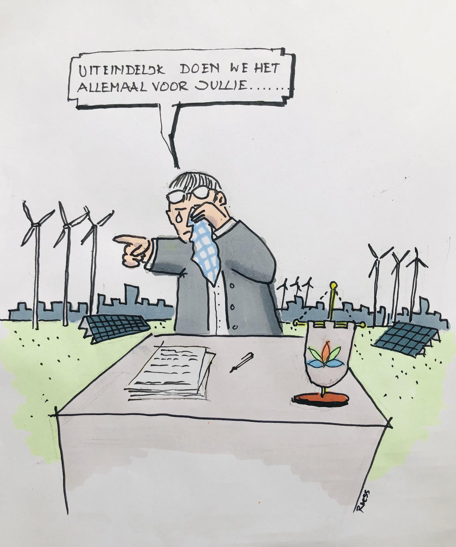 Lagere lasten door al die datacenters? Puur populisme van de wethouder, vindt Red de Wieringermeer. 'De polder gaat kapot. Niet alles is in geld uit te drukken'