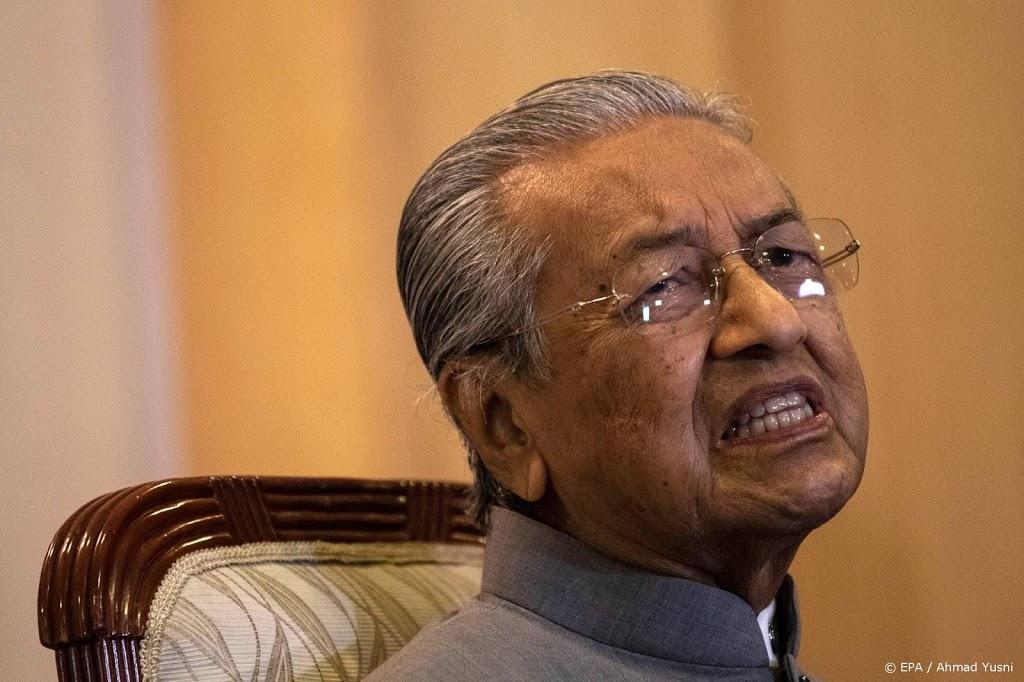 Twitter verwijdert haatzaaiend bericht van oud-premier Maleisië