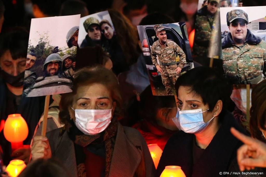 Armenië en Azerbeidzjan wisselen gesneuvelde militairen uit