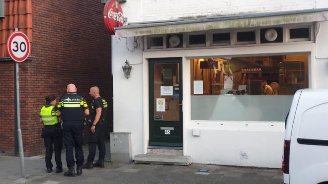 Snackbar Kopermolen overvallen: Voor nog geen vijf euro de politie achter je aan