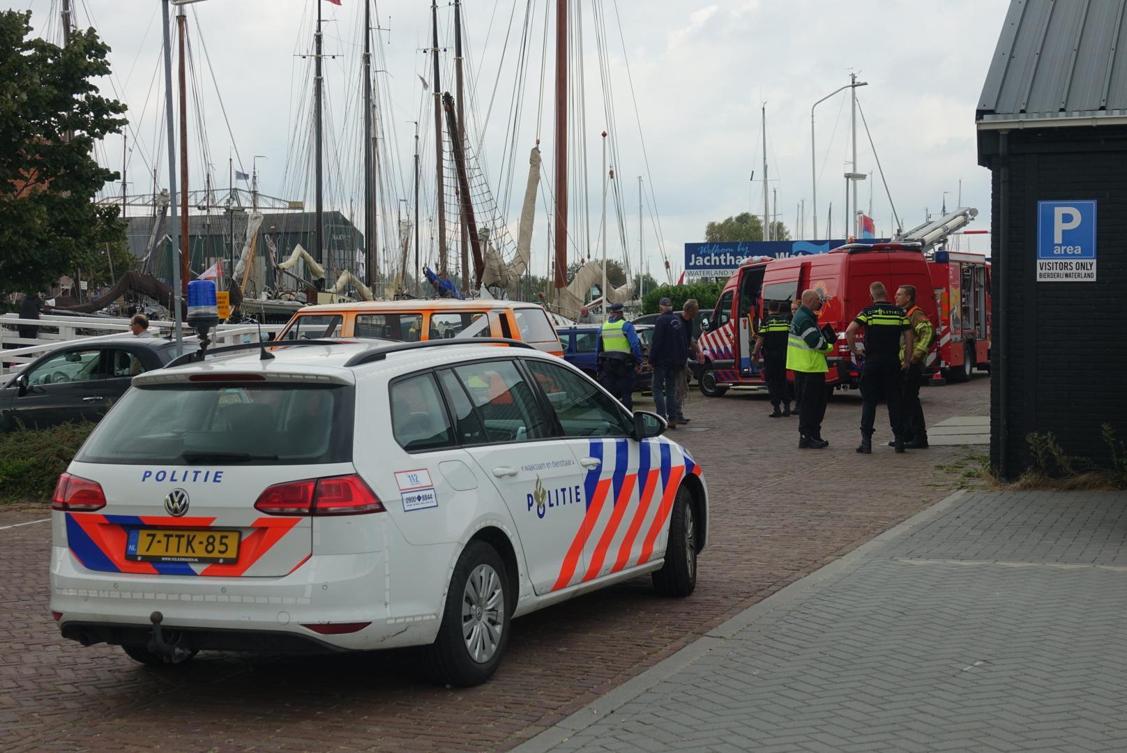 Vrouw die te water raakte in Monnickendam overleden