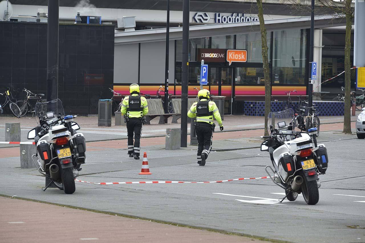 Station Hoofddorp lange tijd afgesloten na verdachte situatie [video]