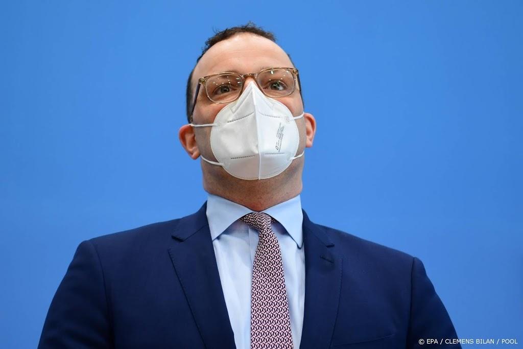 Duitse gezondheidsminister dringt aan op onmiddellijke lockdown