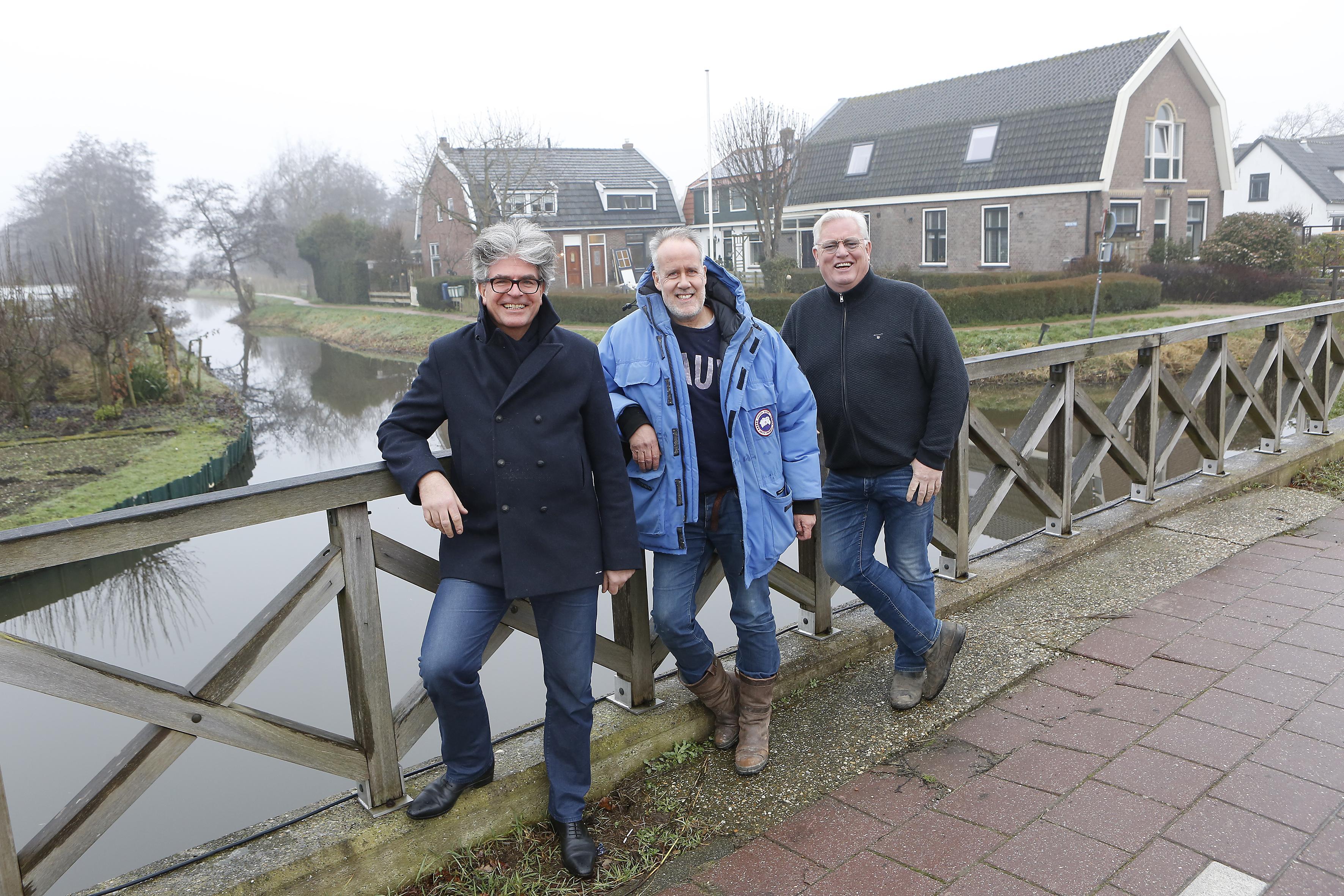 Ankeveen krijgt na 75 jaar weer de door de Duitsers gesloopte brug terug. Detail: Geen ophaalbrug meer