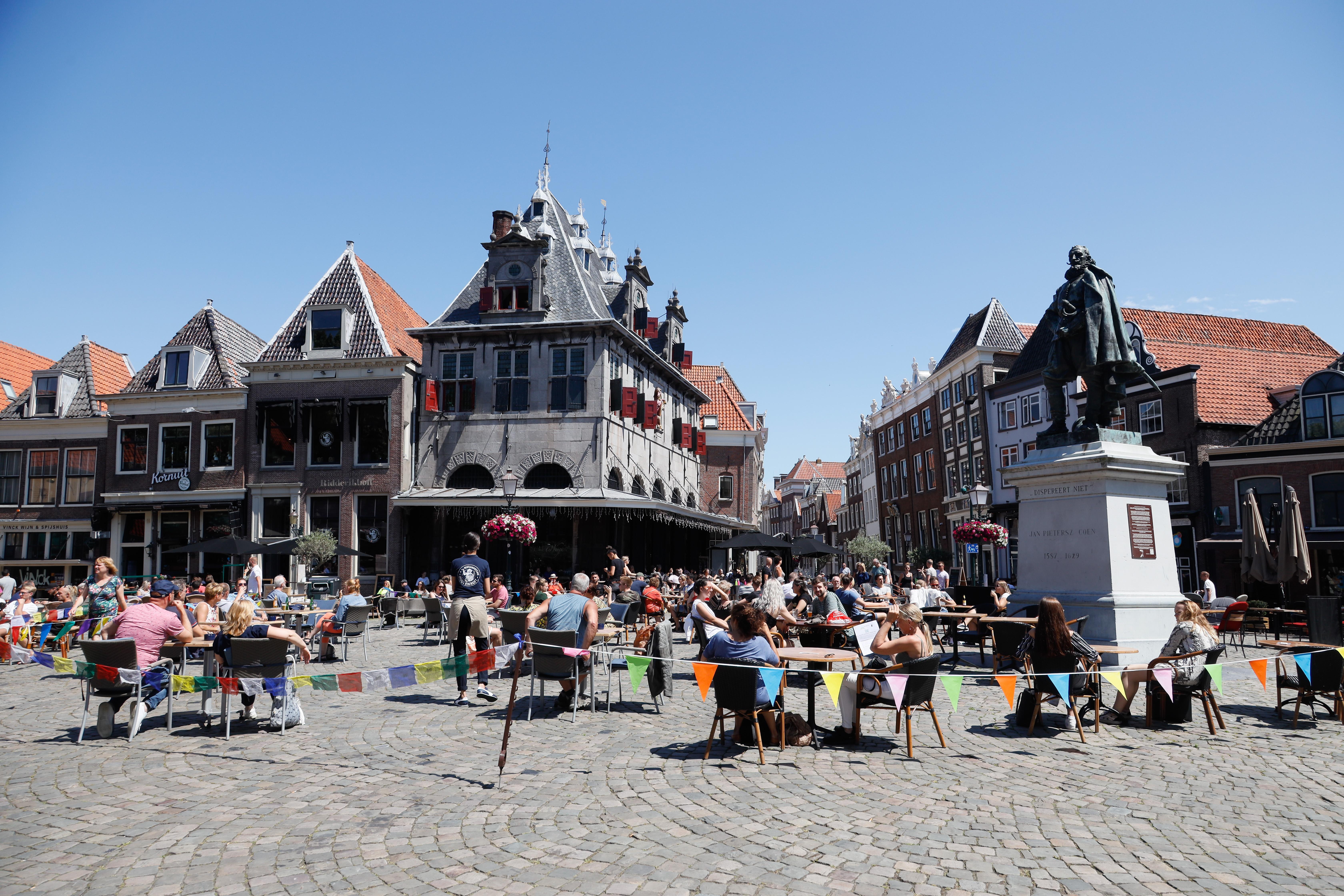 Restaurant d'Oude Waegh in Hoorn overweegt na coronaboete te sluiten op drukke momenten: 'We hebben die groep van tien wel vijf keer gewaarschuwd'