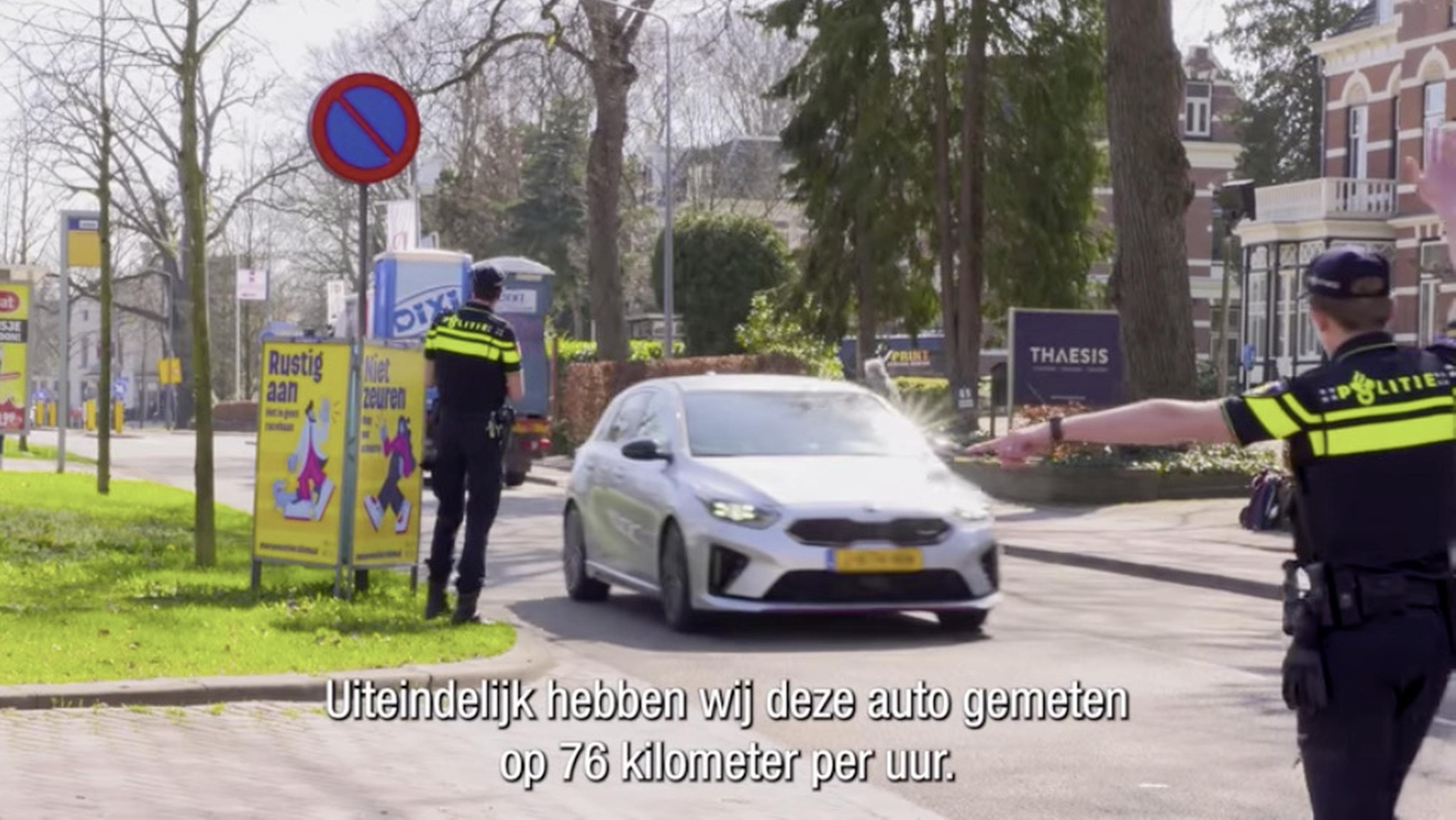 Op de bon geslingerd tijdens verkeerscampagne in Hilversum