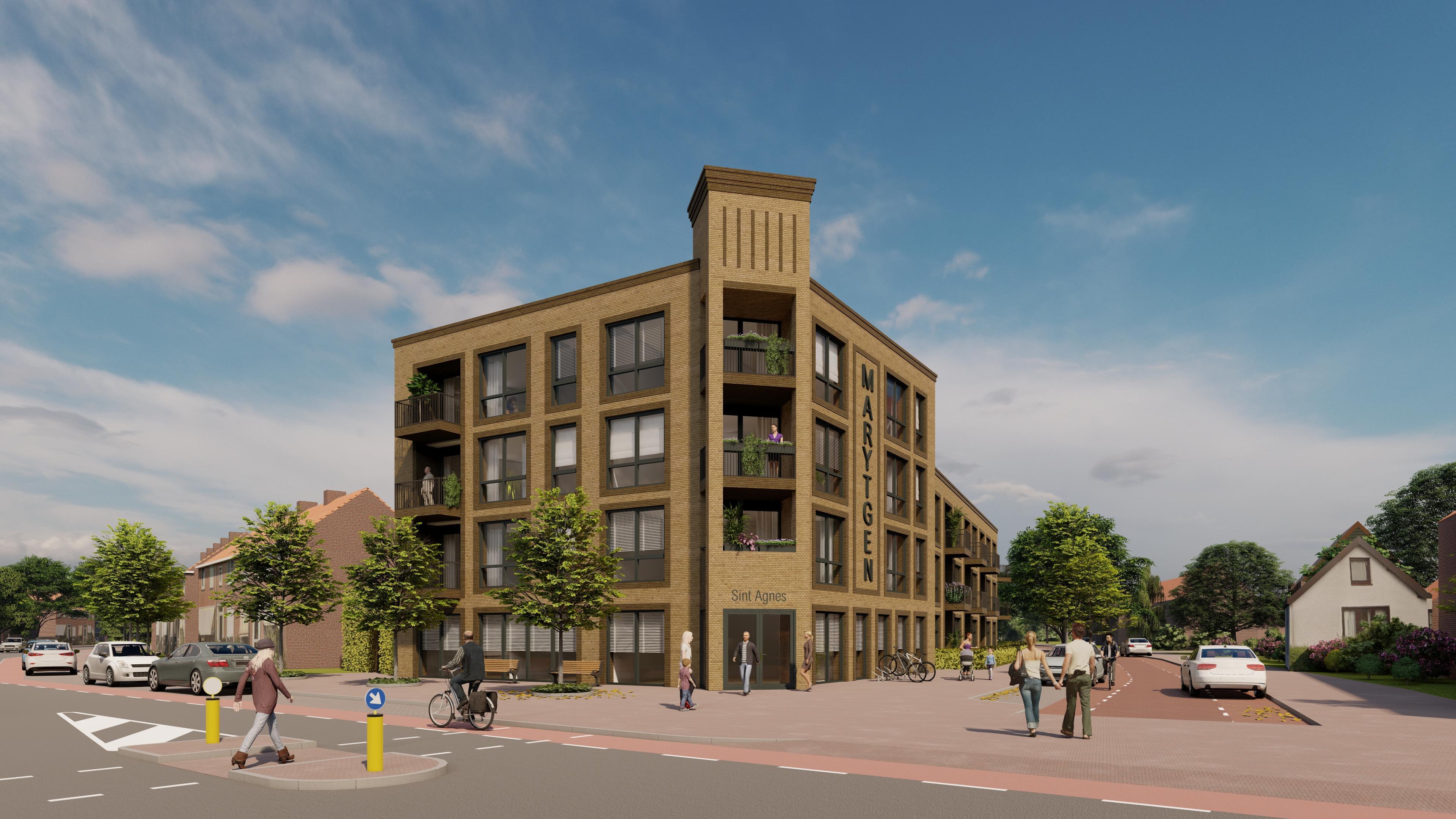 Komst 55-pluswoningen in centrum Heemskerk dichterbij, appartementen aan de Maerten van Heemskerckstraat