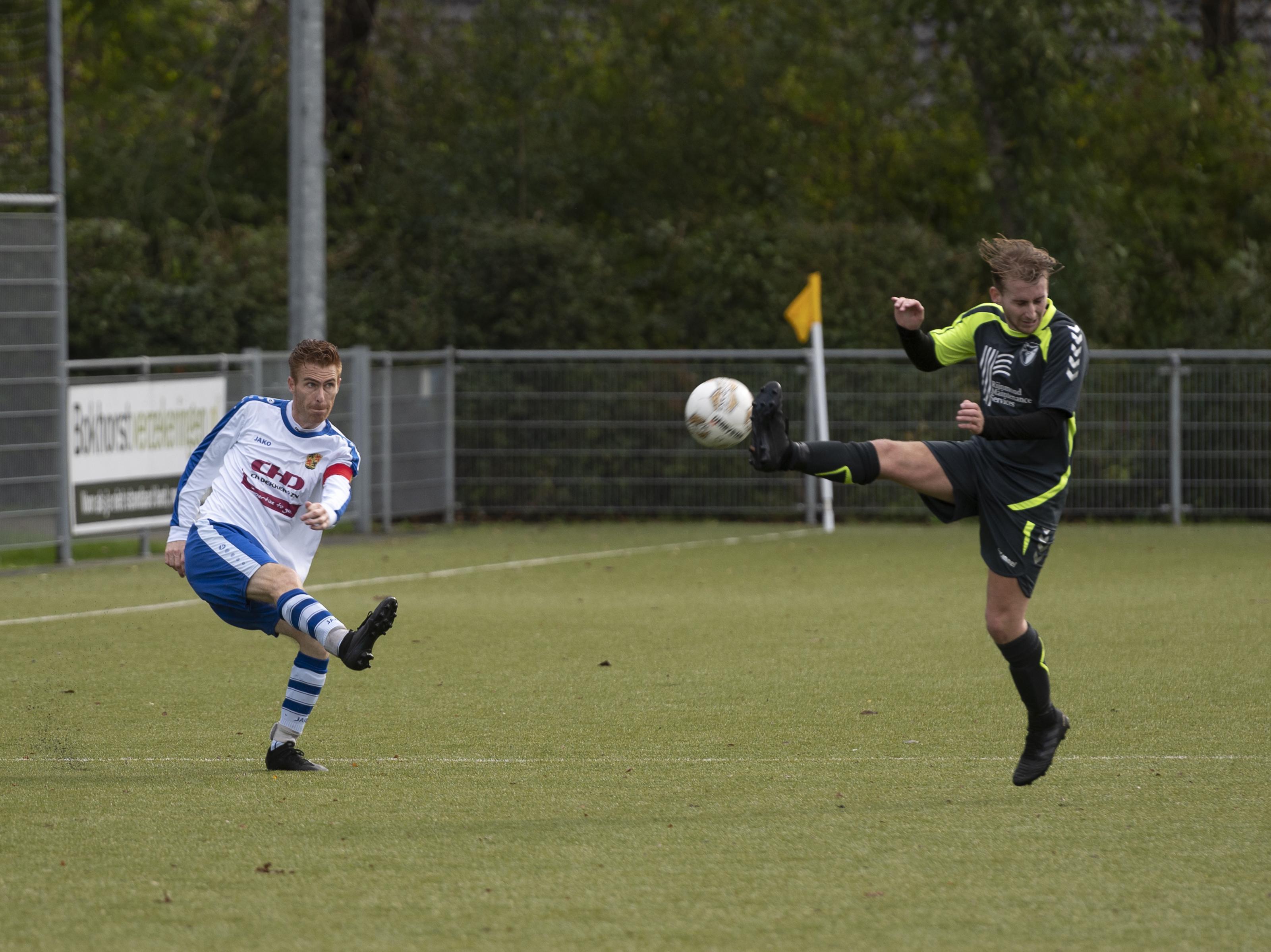 Invallers houden Ilpendam en VVH/Velserbroek in evenwicht: 1-1