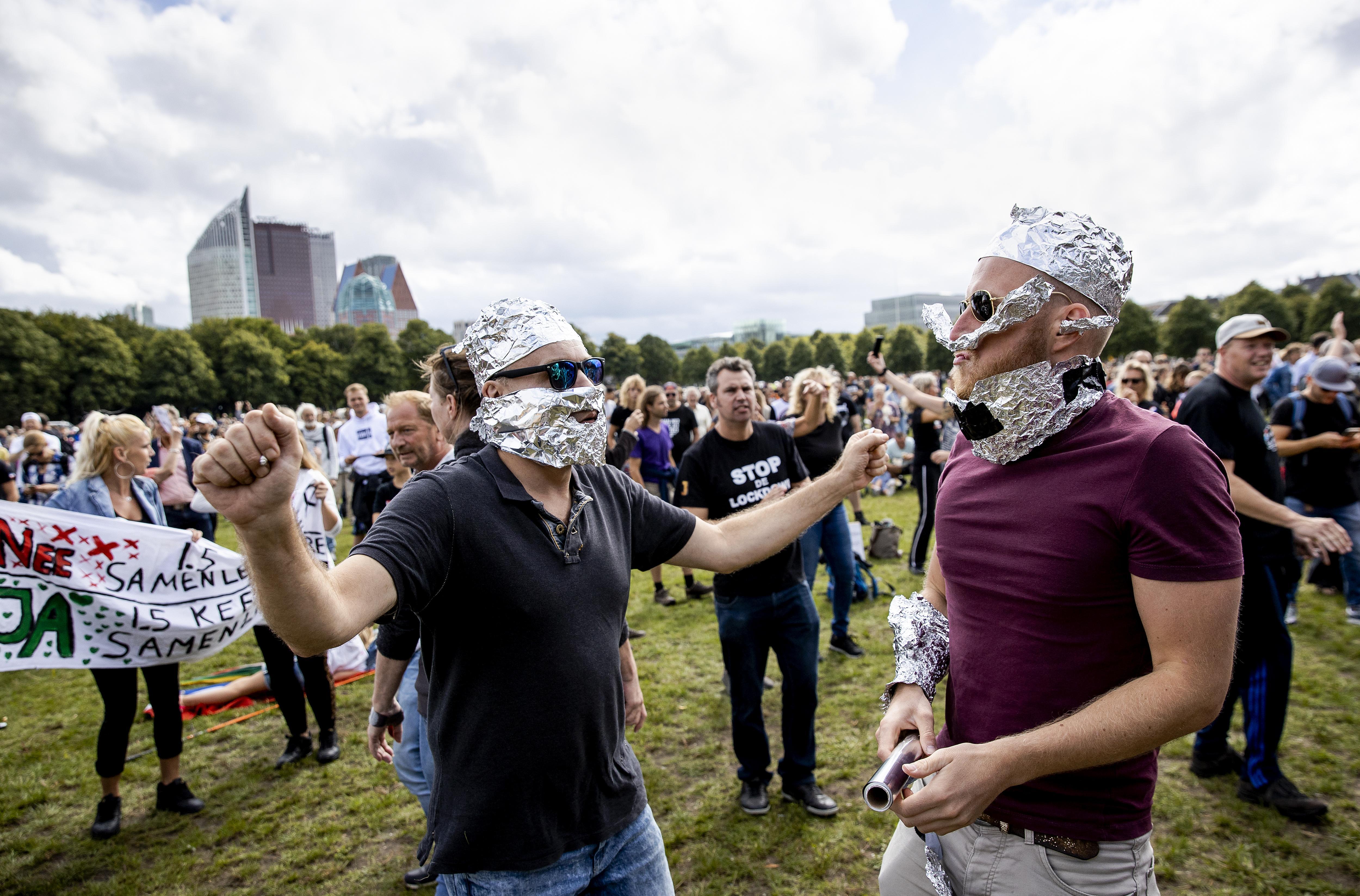 Corona-sceptici willen op 3 oktober demonstreren in Leiden