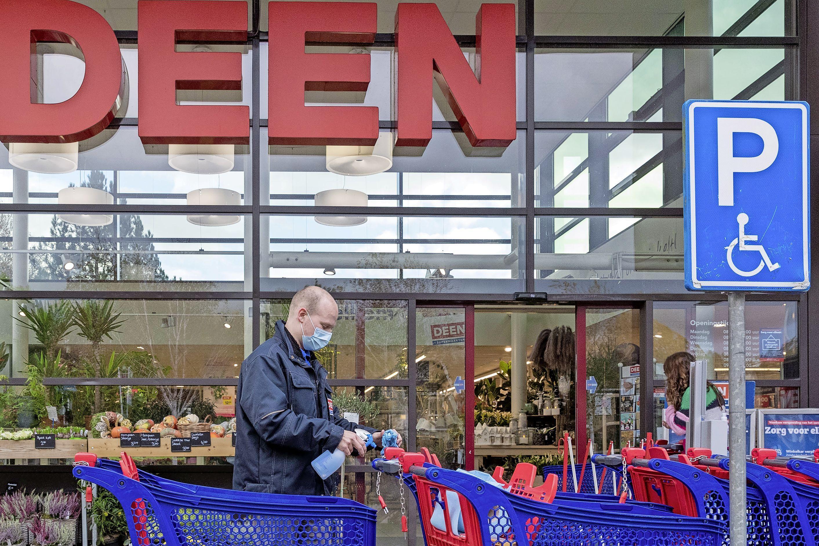 Inbraak bij supermarkt Deen in Obdam, daders spoorloos
