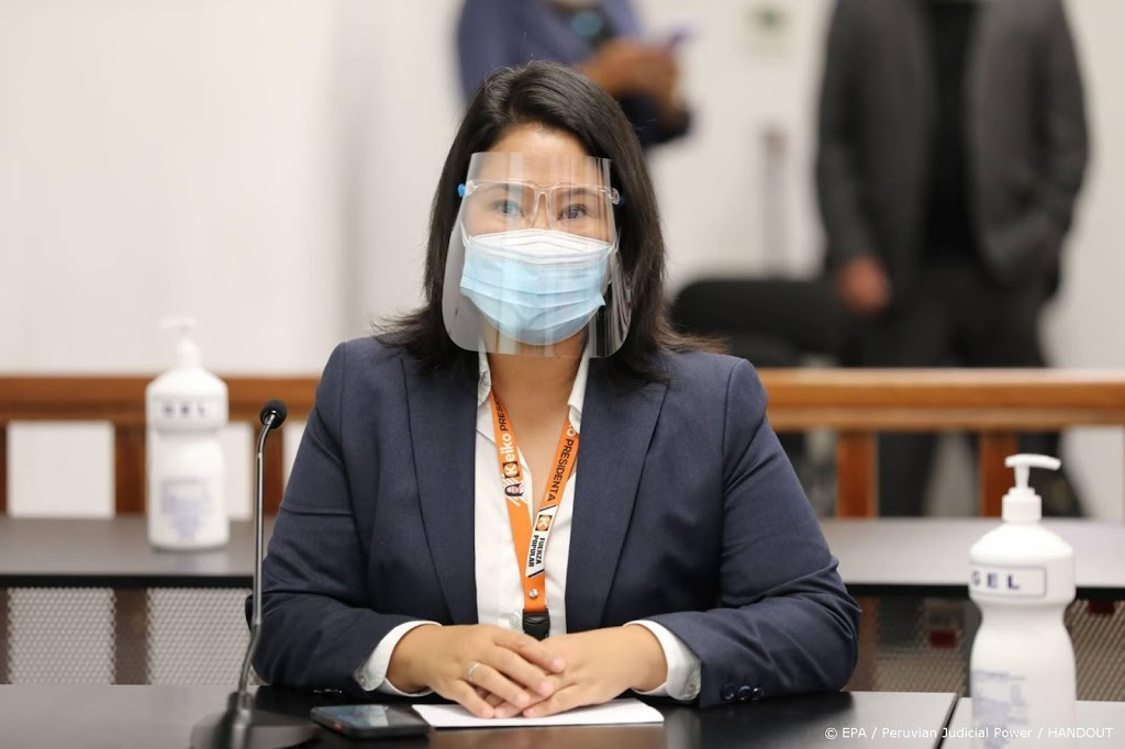Peruaanse presidentskandidate Fuijimori blijft op vrije voeten