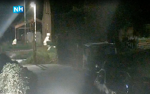 Camerabeelden van aanrander in Wervershoof hebben nog geen tips opgeleverd [video]