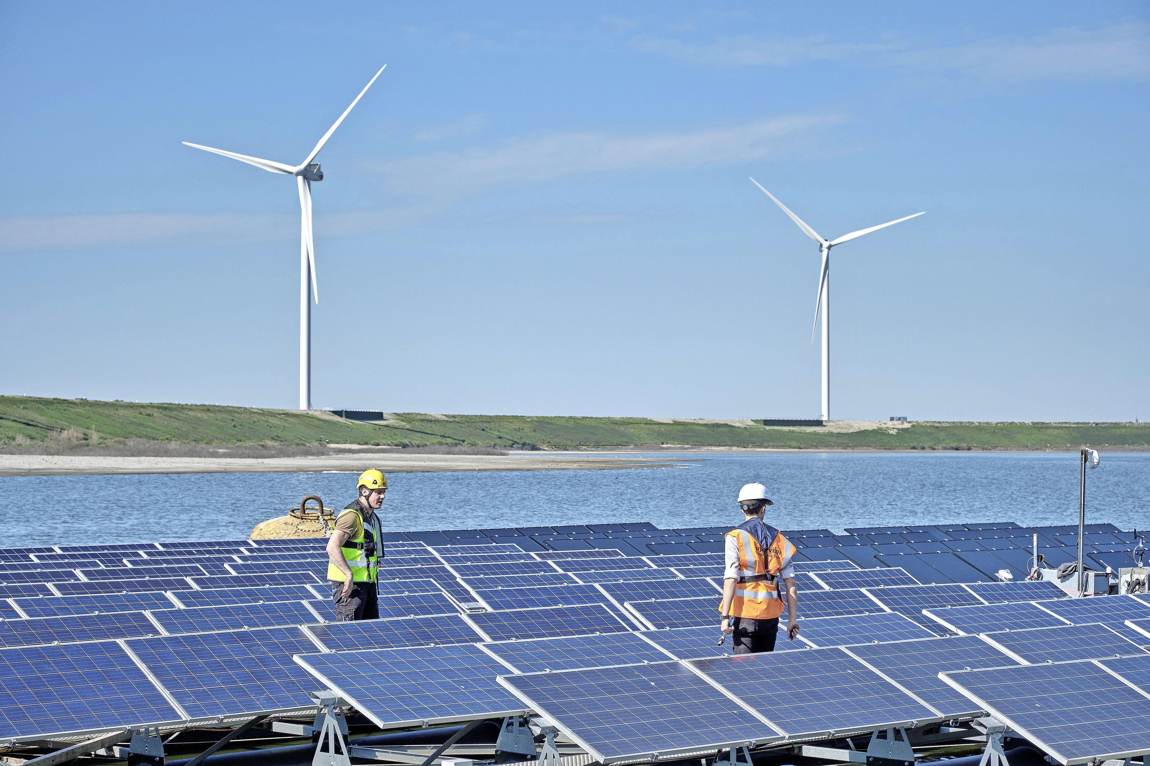 Sunrock wil drijvend zonnepark op Klinkenbergerplas