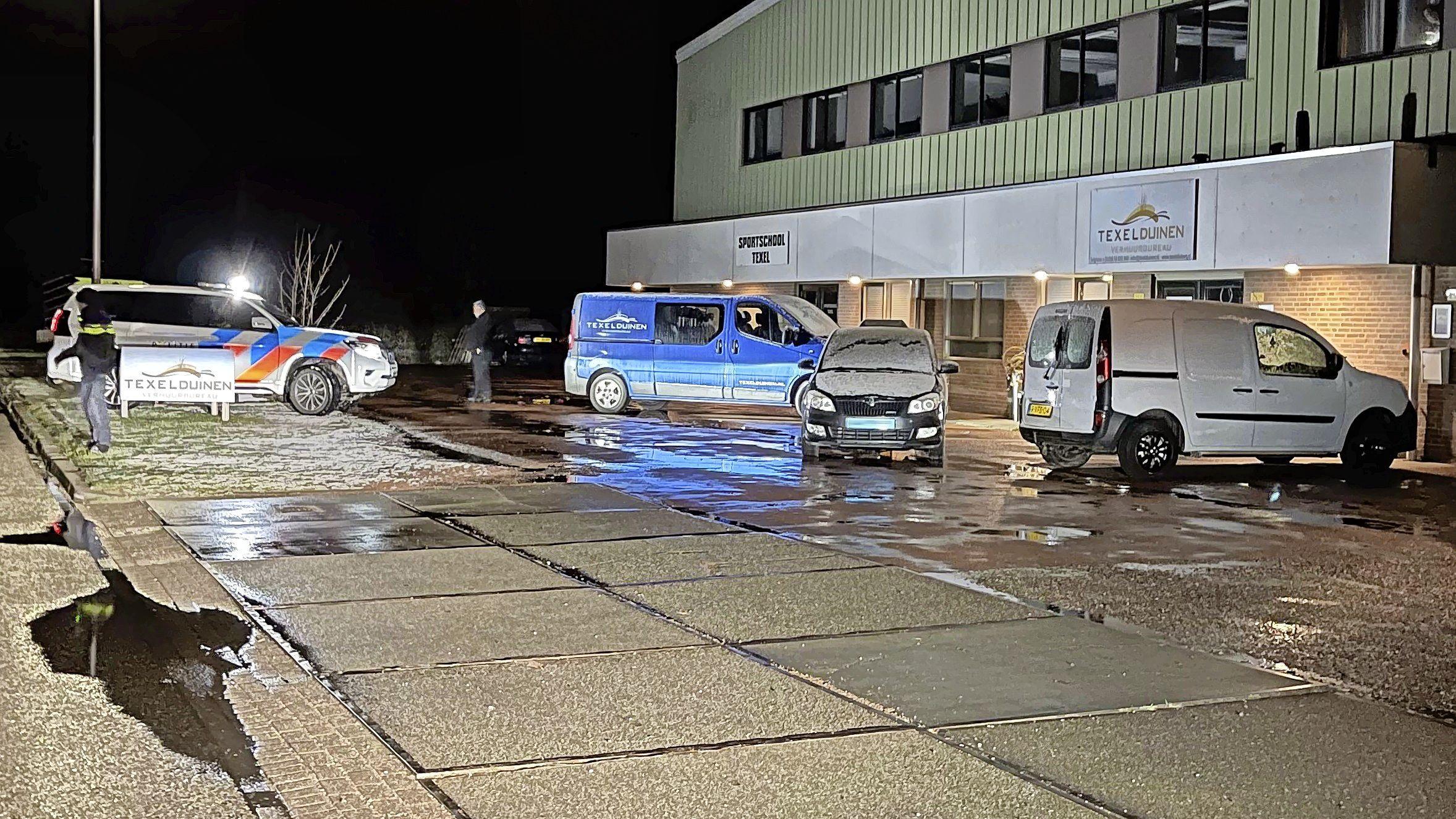 Hulpdiensten massaal uitgerukt voor bommelding in Oudeschild op Texel, maar niks gevonden