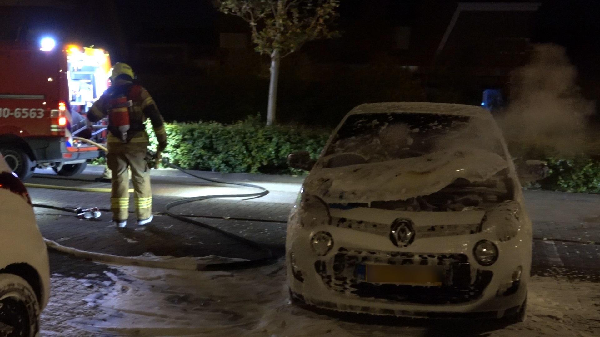 Auto vermoedelijk in brand gestoken in Heerhugowaard