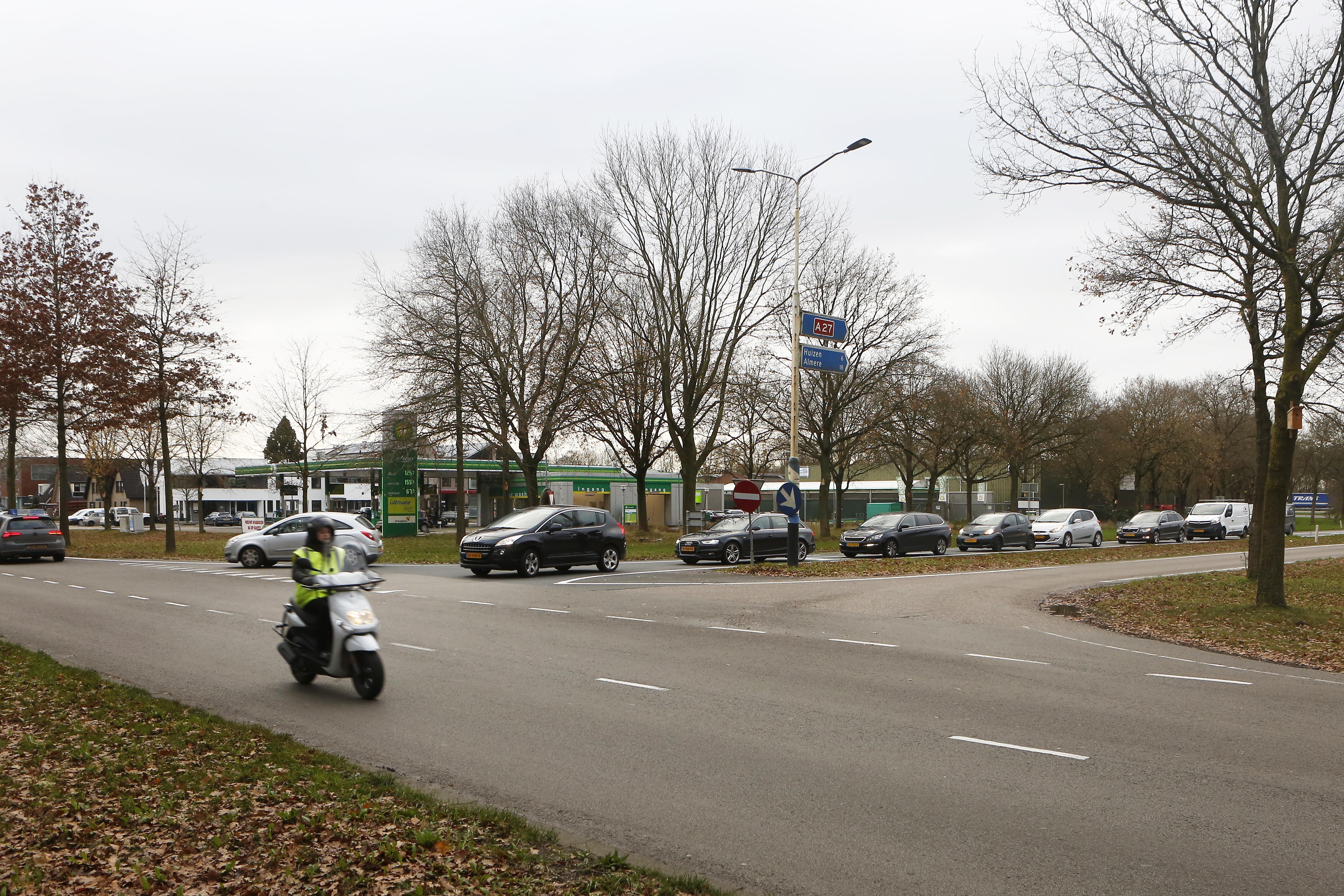 Rijk betaalt 1,5 miljoen euro mee aan rotonde bij BP in Eemnes