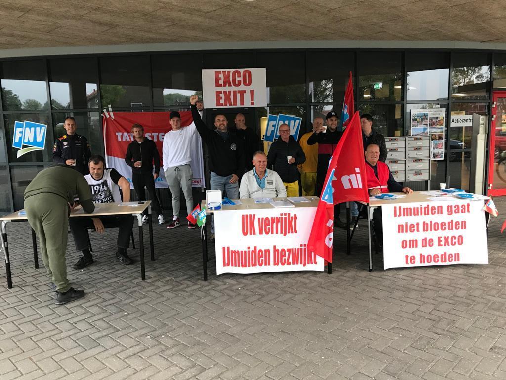 Personeel Walserij-West Tata Steel legt fabriek plat