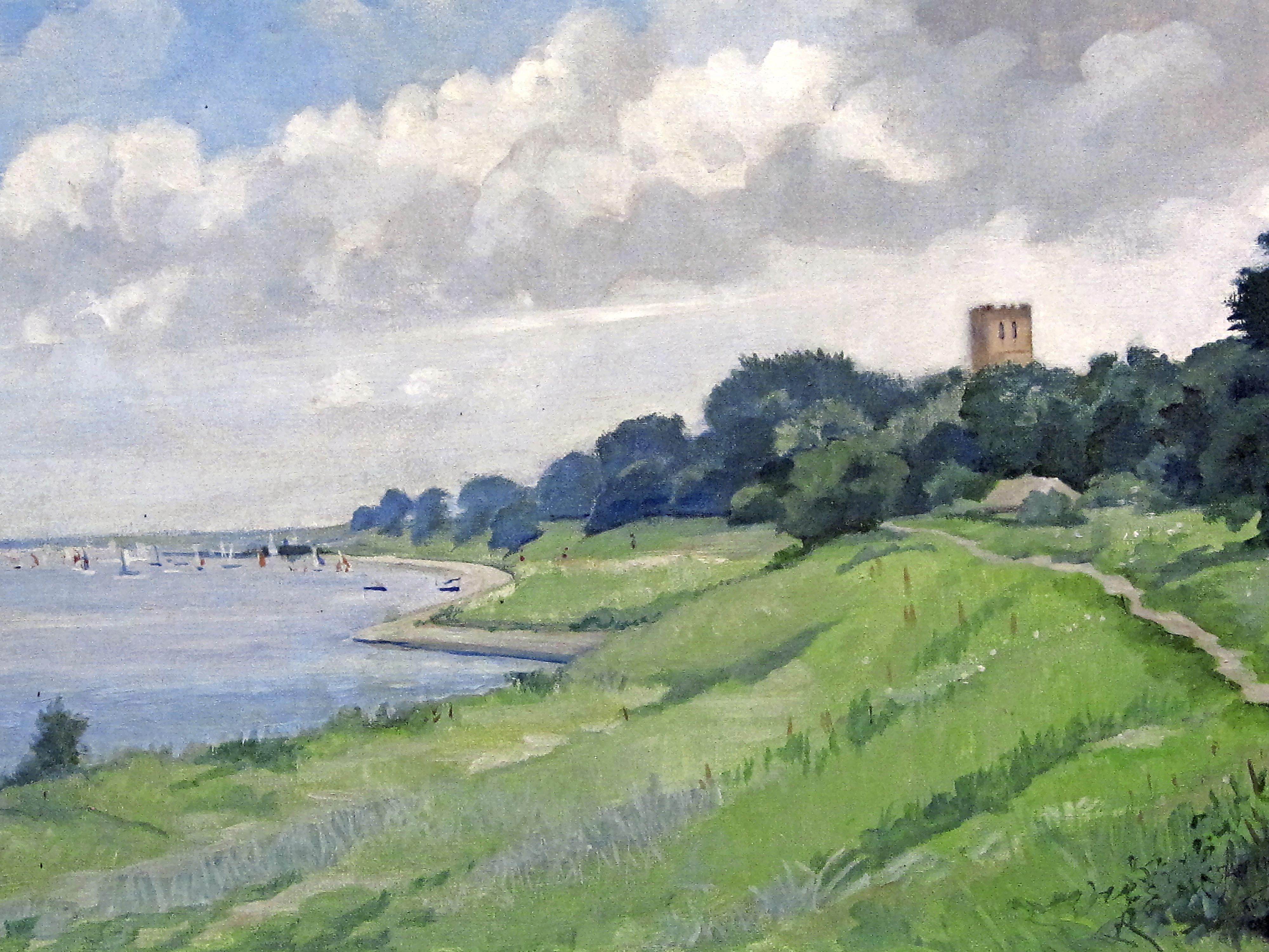 Schilderijen Jan Meijer te koop voor 'echte' Muiderbergers