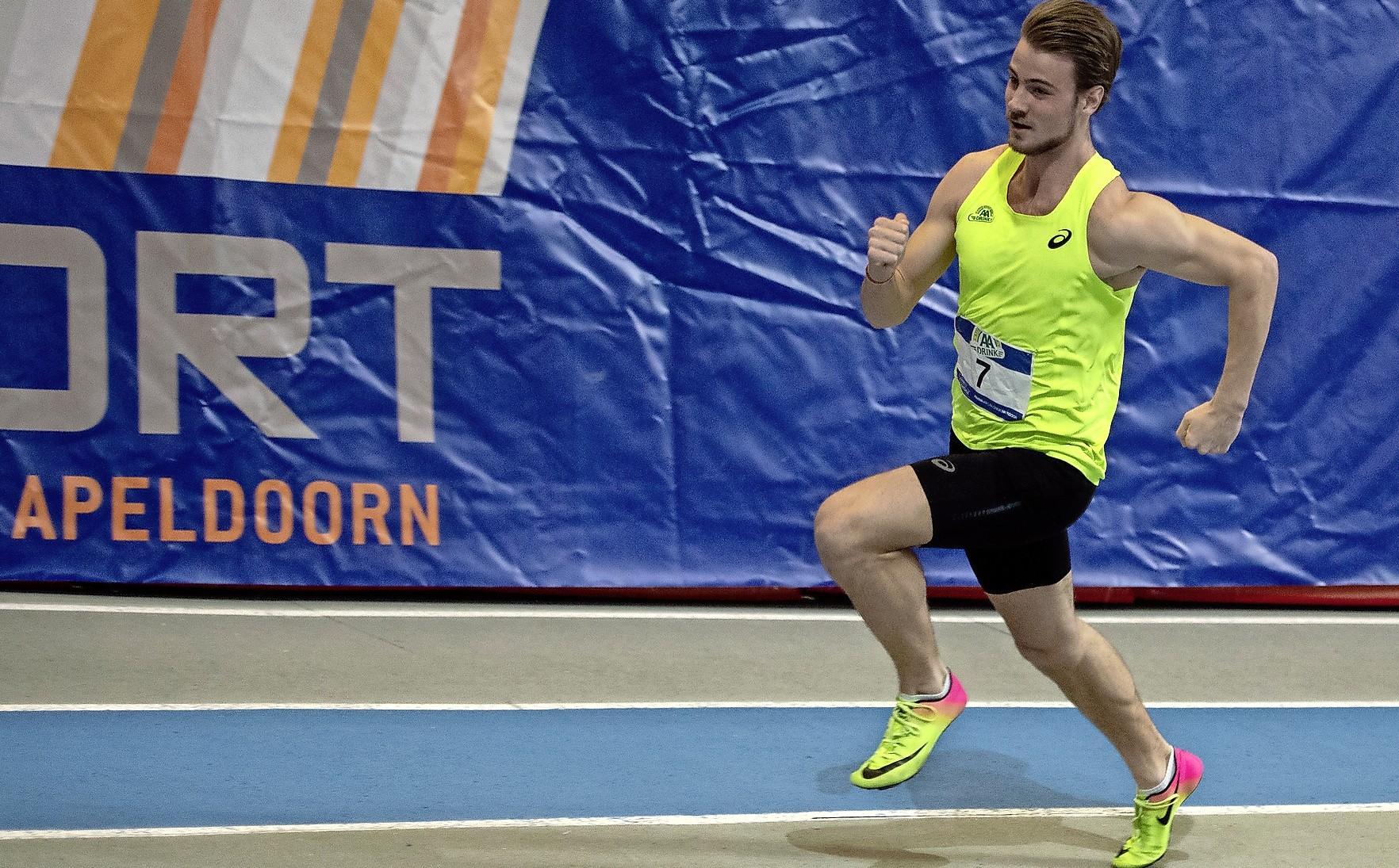 Jochem Dobber uit Santpoort-Zuid steekt in goede vorm en wil op NK de 400 meter onder de 47 seconden lopen: 'Ja, moet lukken'