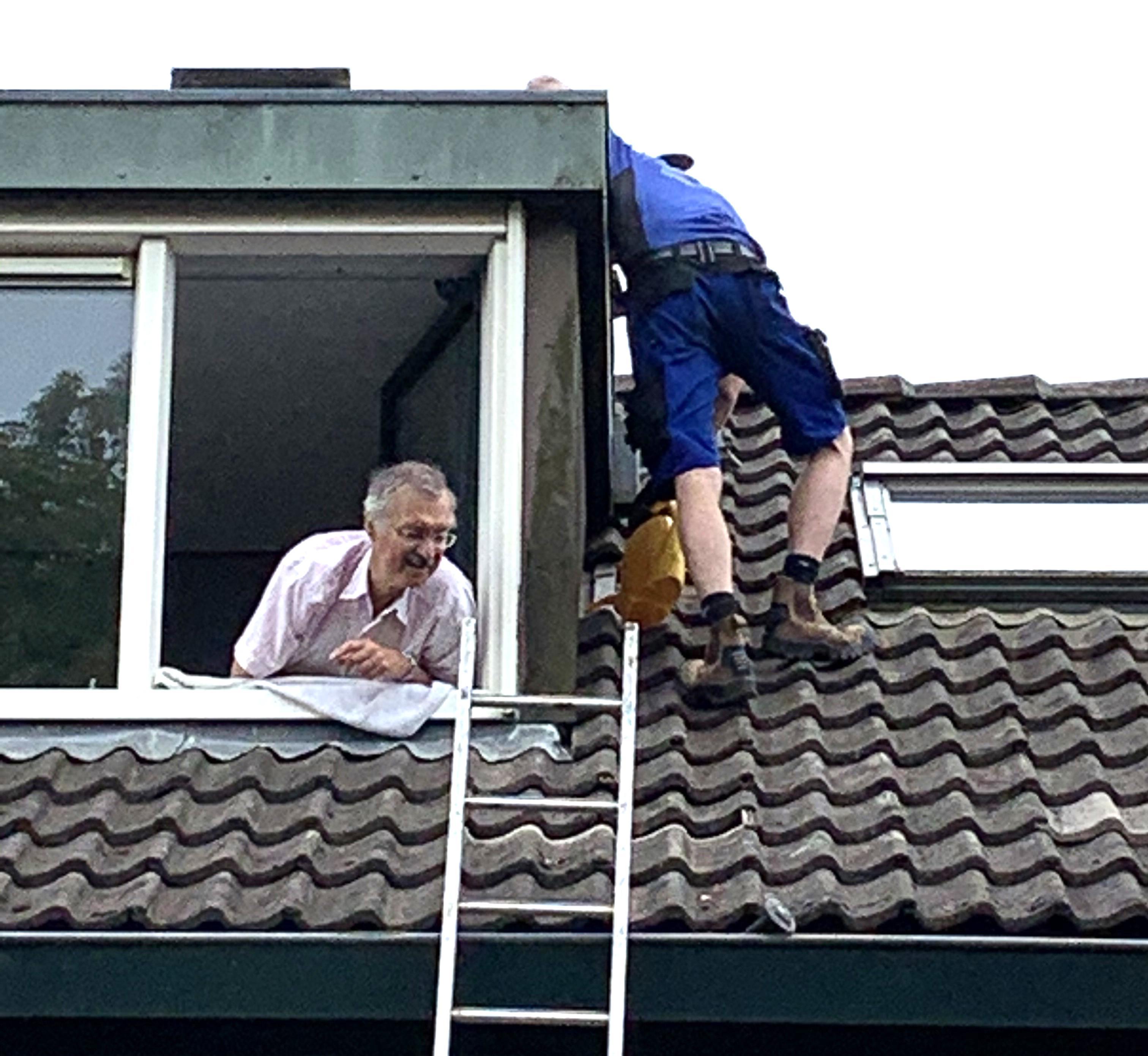 Probleem 'wanhopige dakeigenaar' in Hoorn verholpen