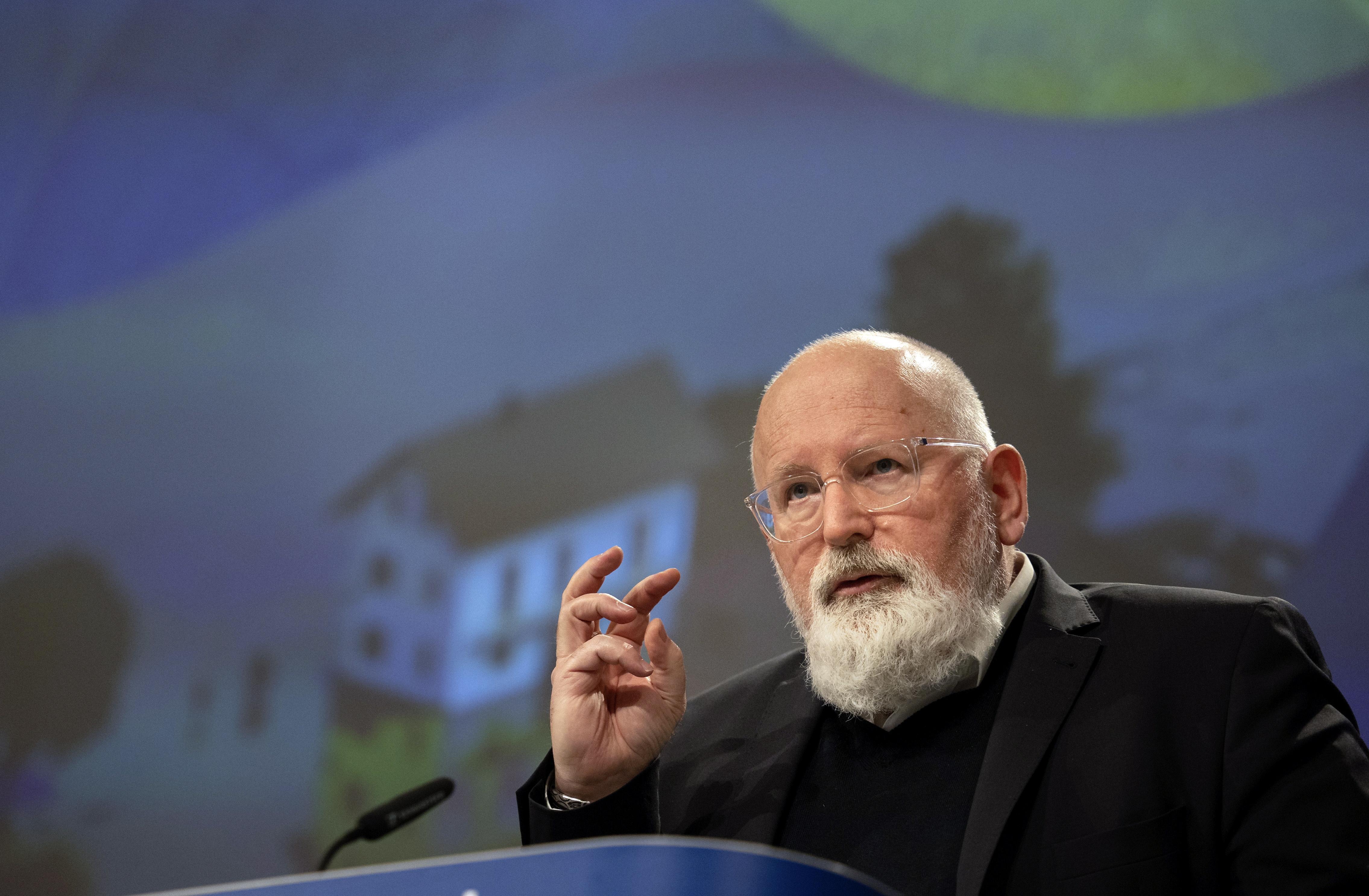 Frans Timmermans uitgeroepen tot Groenste Politicus
