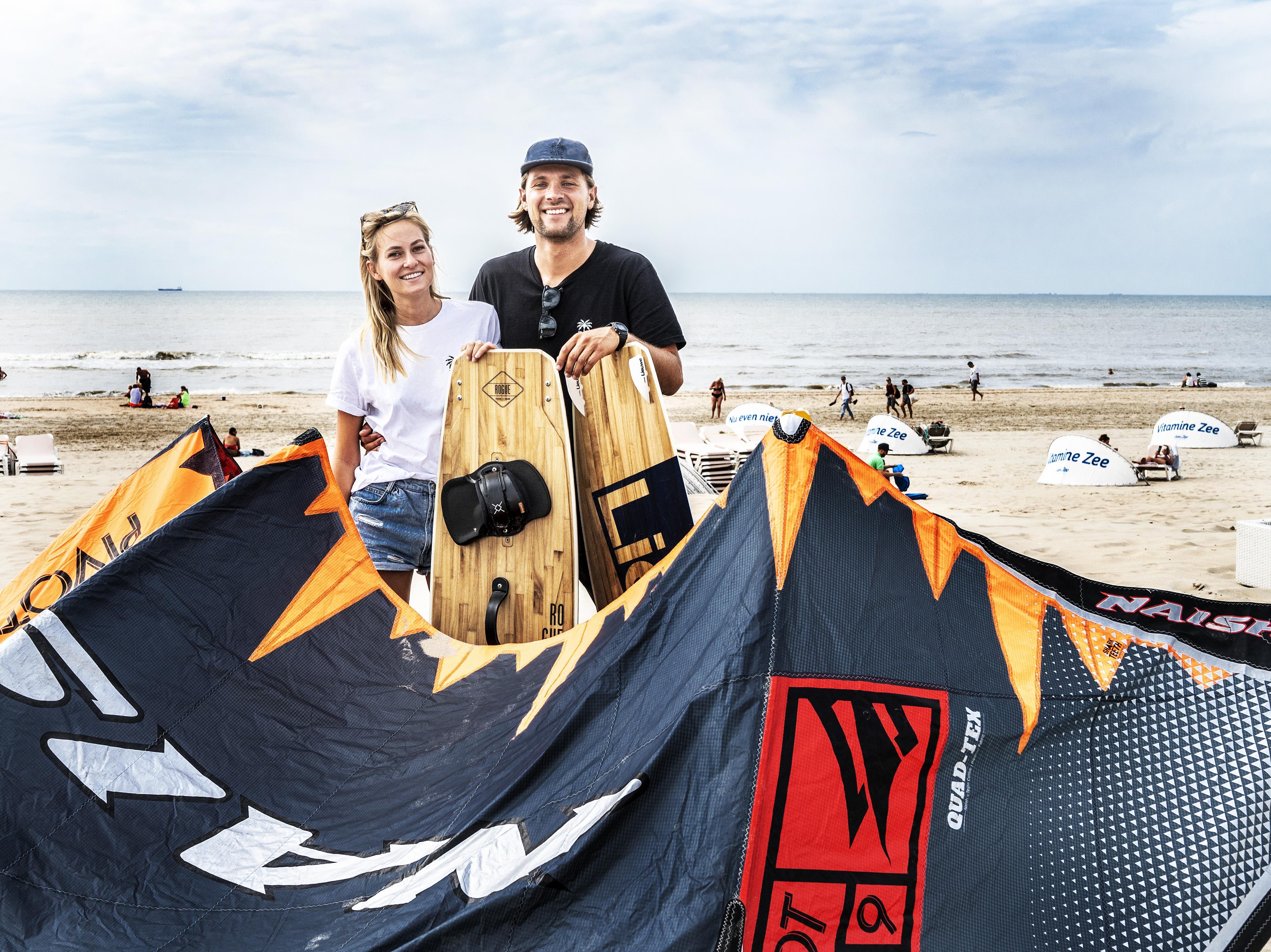 Kitesurfen gevaarlijk? 'Autorijden is ook risicovol als je geen les neemt'. Michelle (27) runt kitesurfschool in Zandvoort