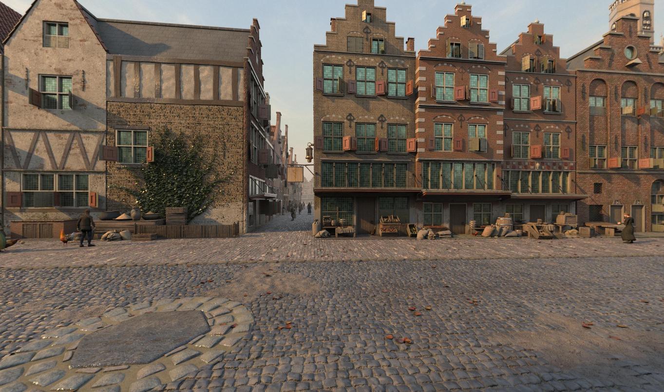 Virtuele wandeling door zeventiende eeuws Leiden wordt stuk langer