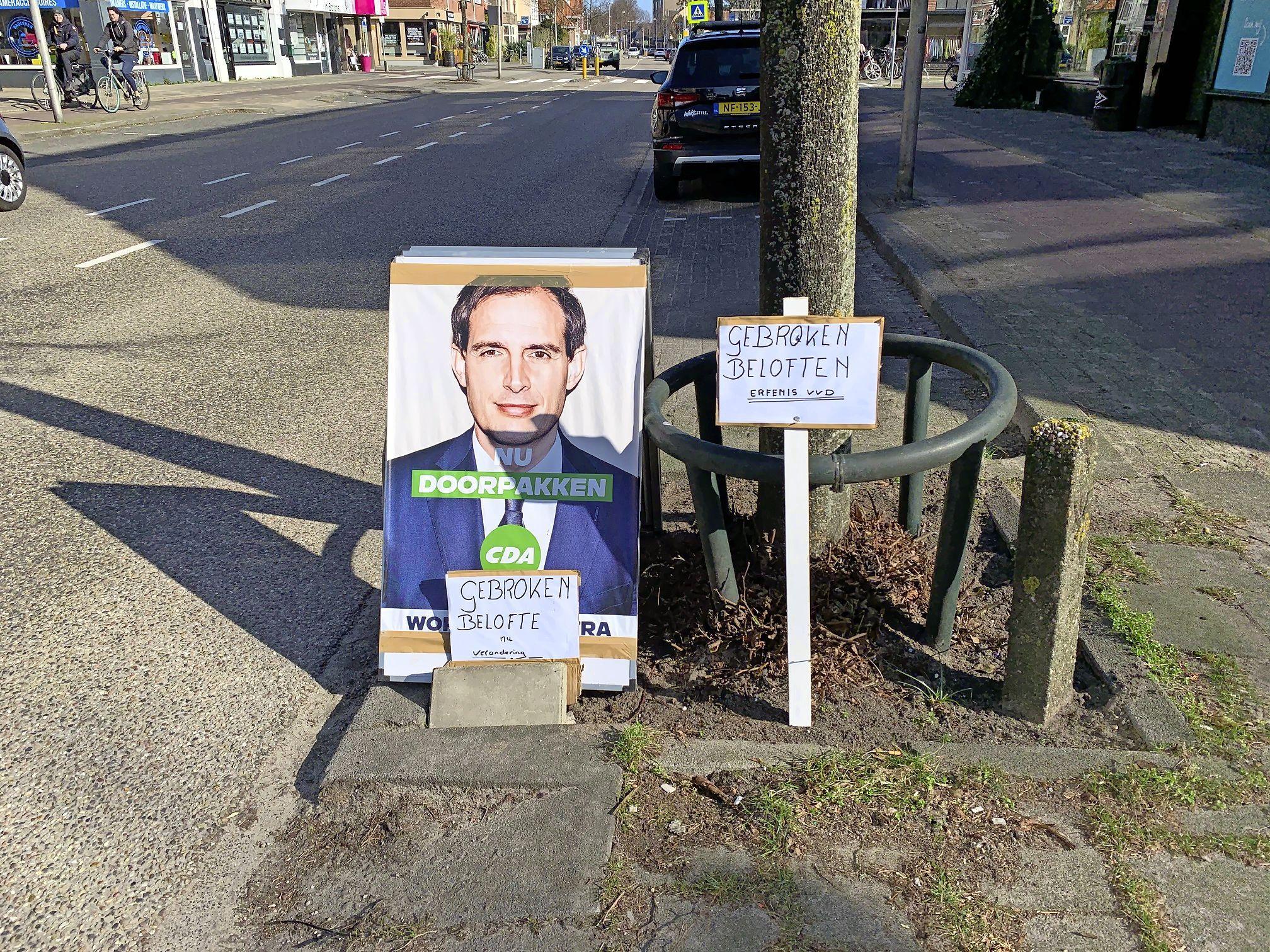 'Negatief stemadvies' in Wopke Hoekstra's woonplaats Bussum