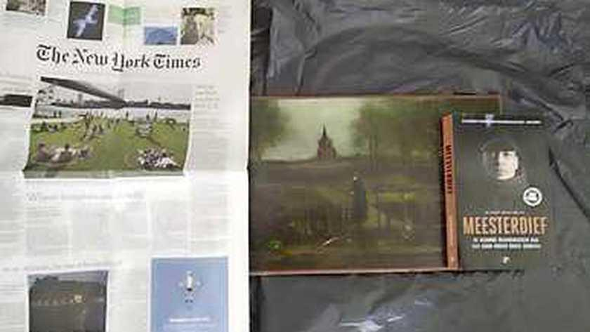 Foto's van in Laren gestolen Van Gogh duiken op 'in maffiakringen'