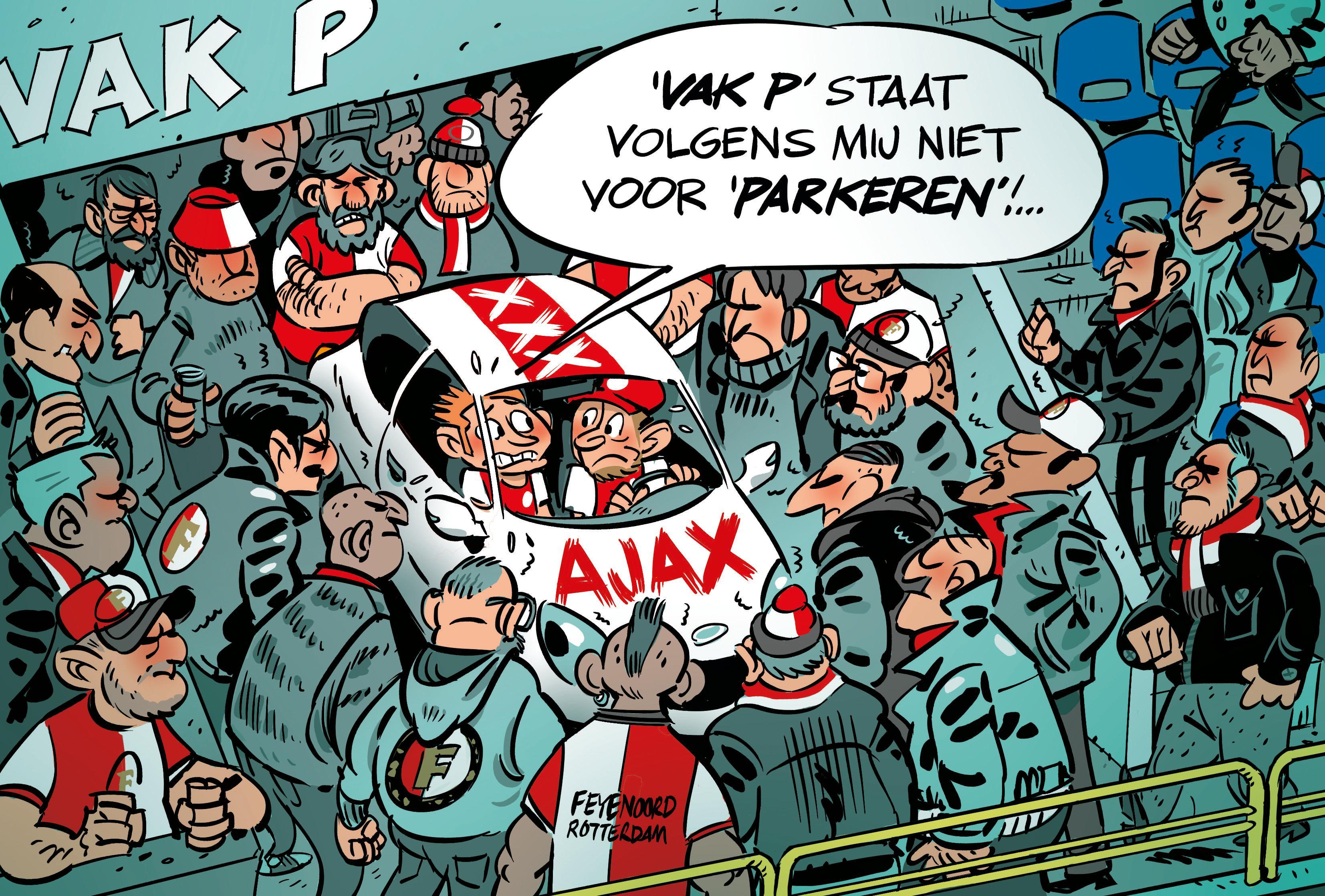 Henk Vink boos op Parkmobile om parkeerboete tijdens voetbal in de Kuip