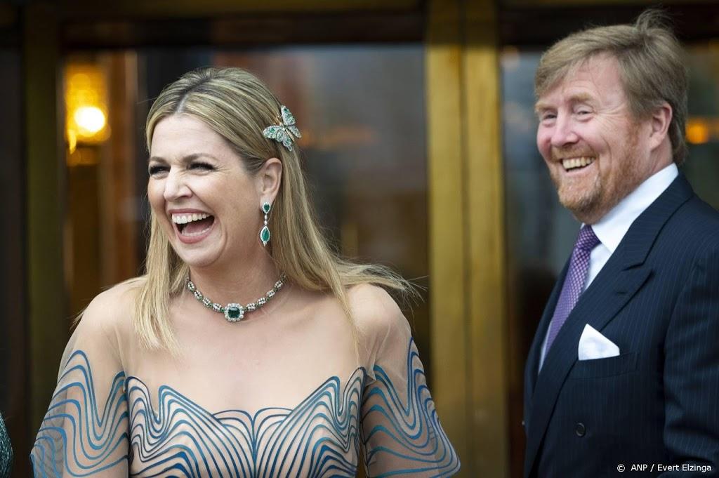 Willem-Alexander maakt foto's van Máxima voor 50e verjaardag