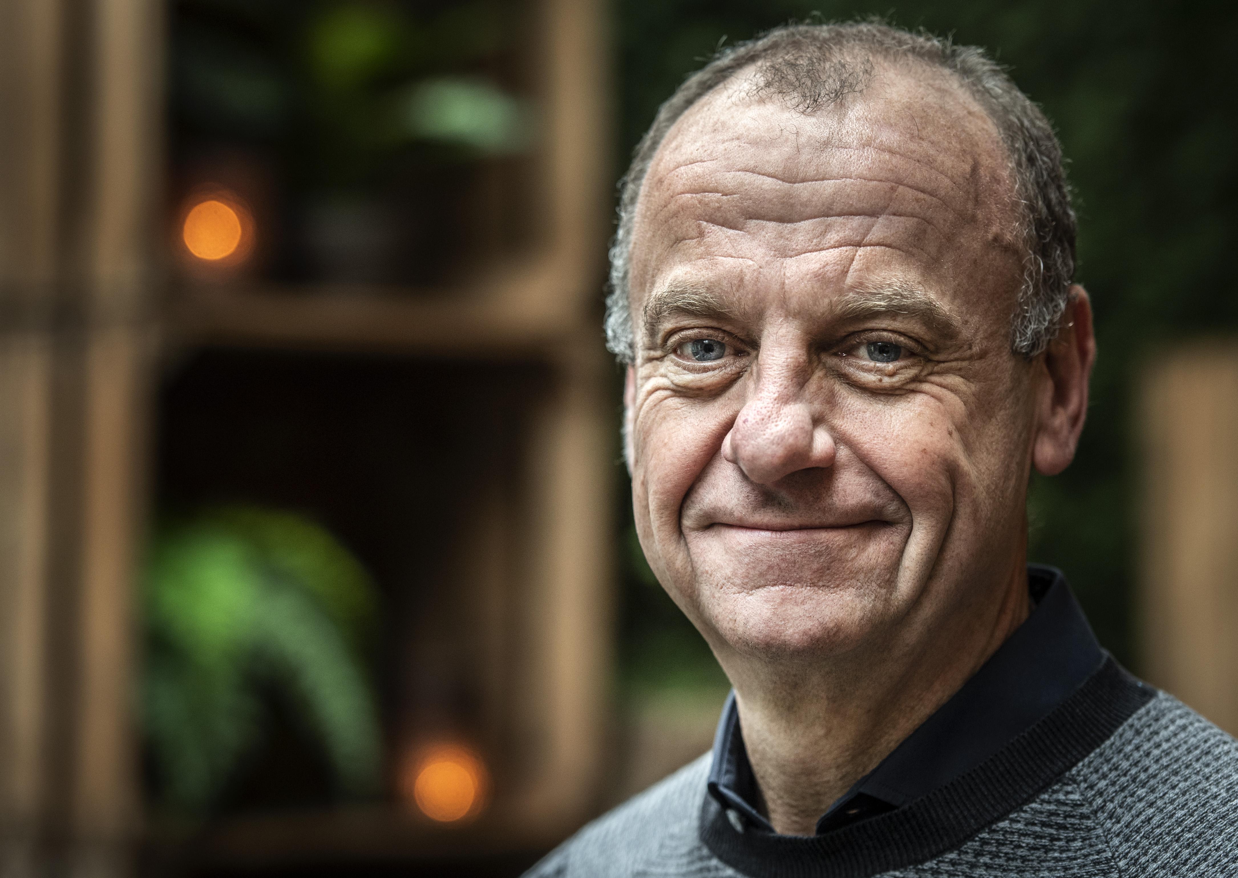 Haarlemmer Herman Opmeer viert zijn tienjarig bestaan als ondernemer: 'Het wordt me als eenpittertje gegund'