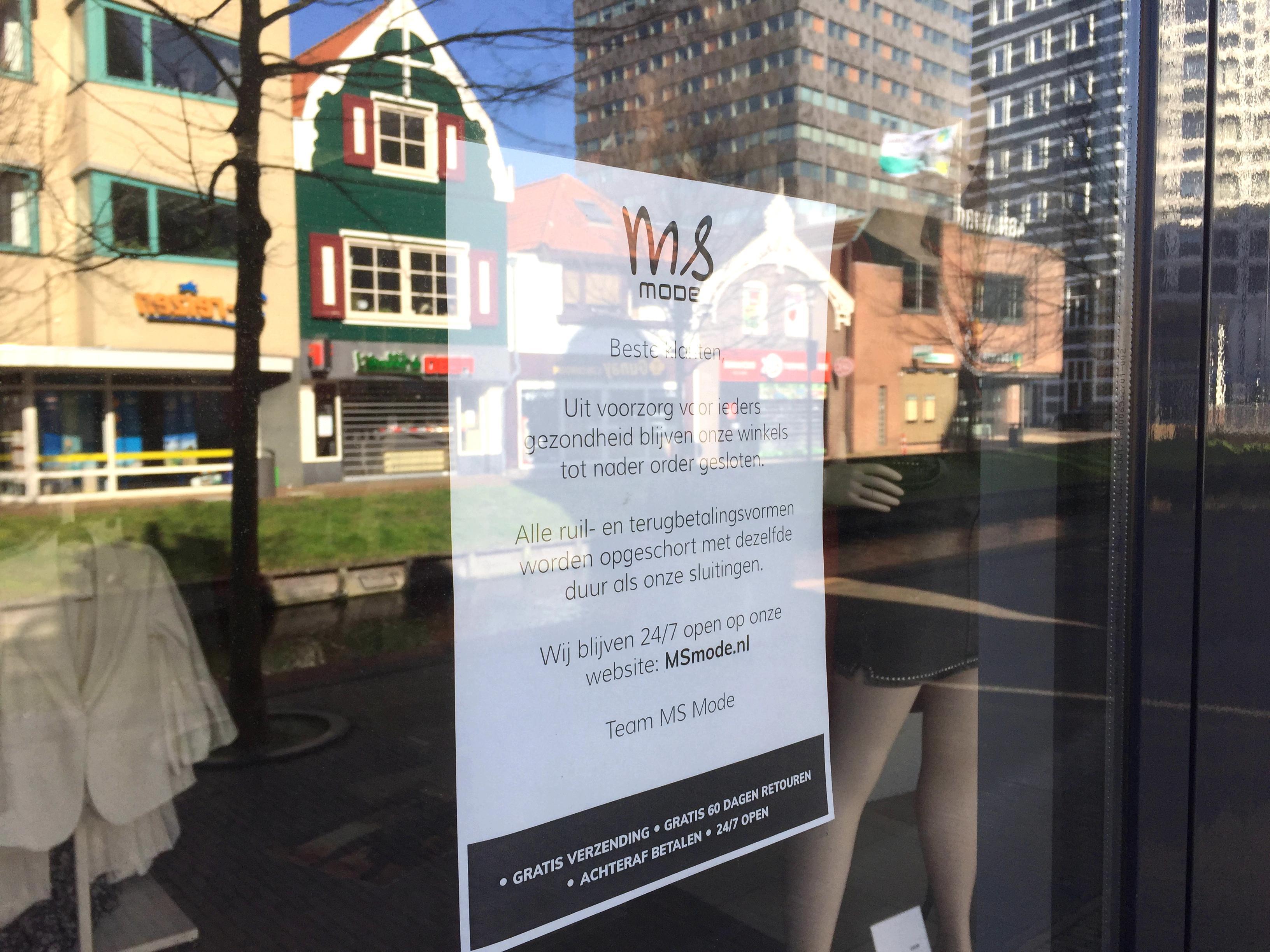 Helft winkels in centrum Zaandam wacht lockdown niet af maar sluit