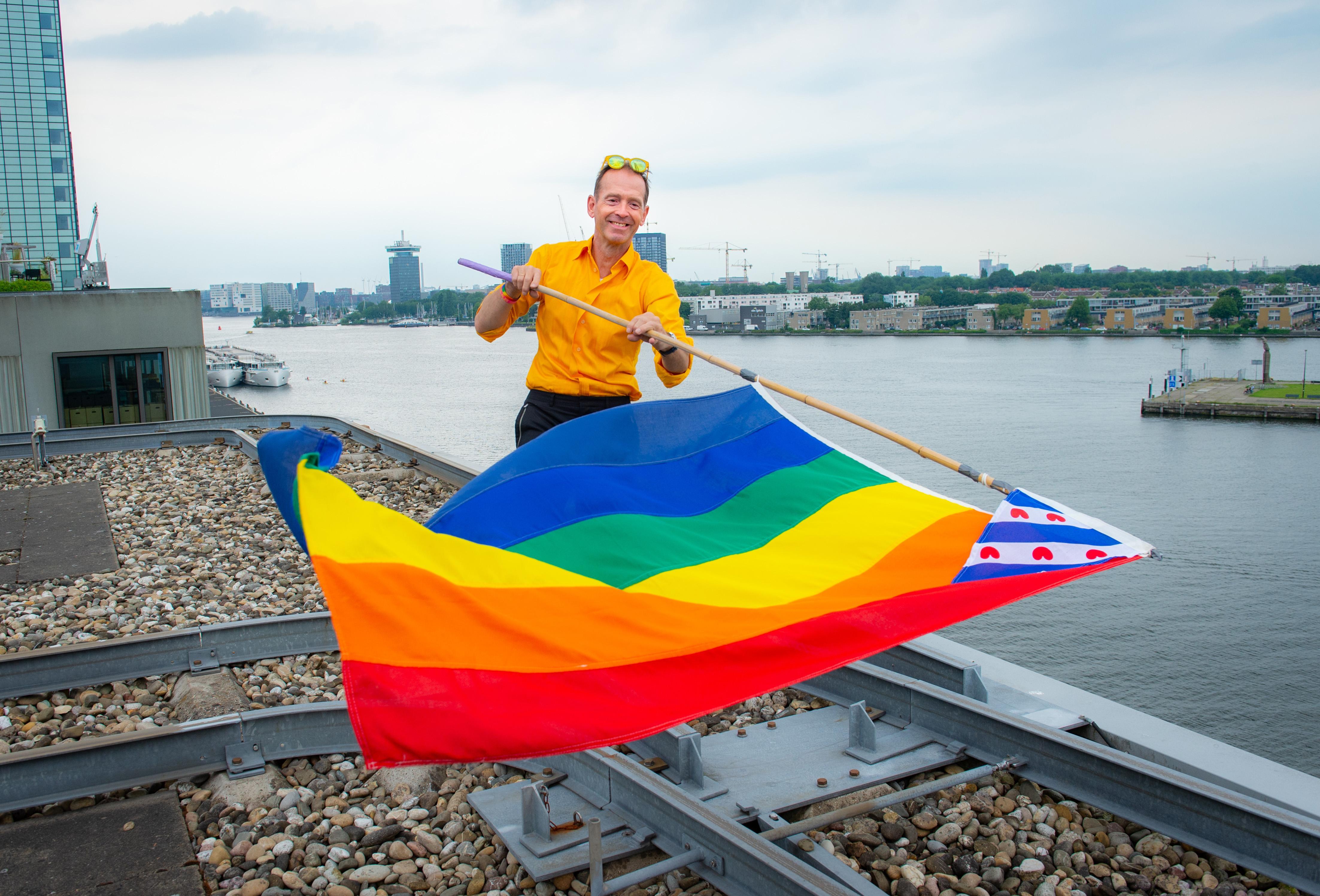 Amsterdam Gay Pride is de trots van emancipator Siep de Haan