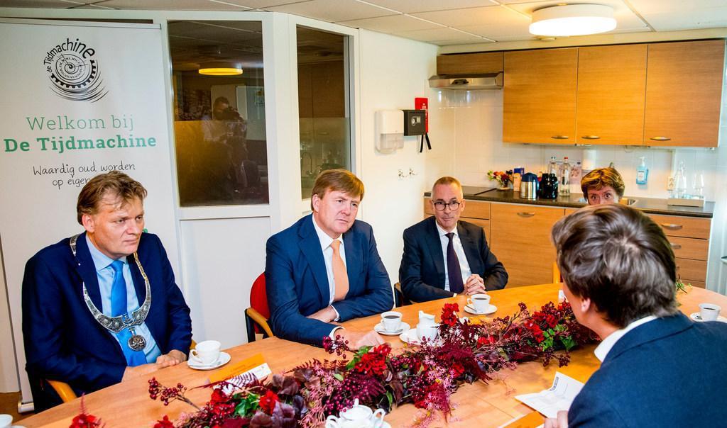 Burgemeester van Zaanstad op bezoek bij koninklijk echtpaar om te praten over kwetsbare wijken: 'We moeten de boel bij elkaar houden'