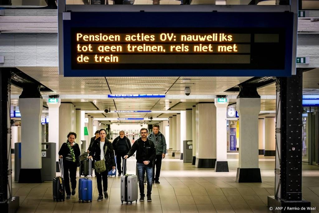 Deel woensdagochtend geen treinen rond Amsterdam en Utrecht