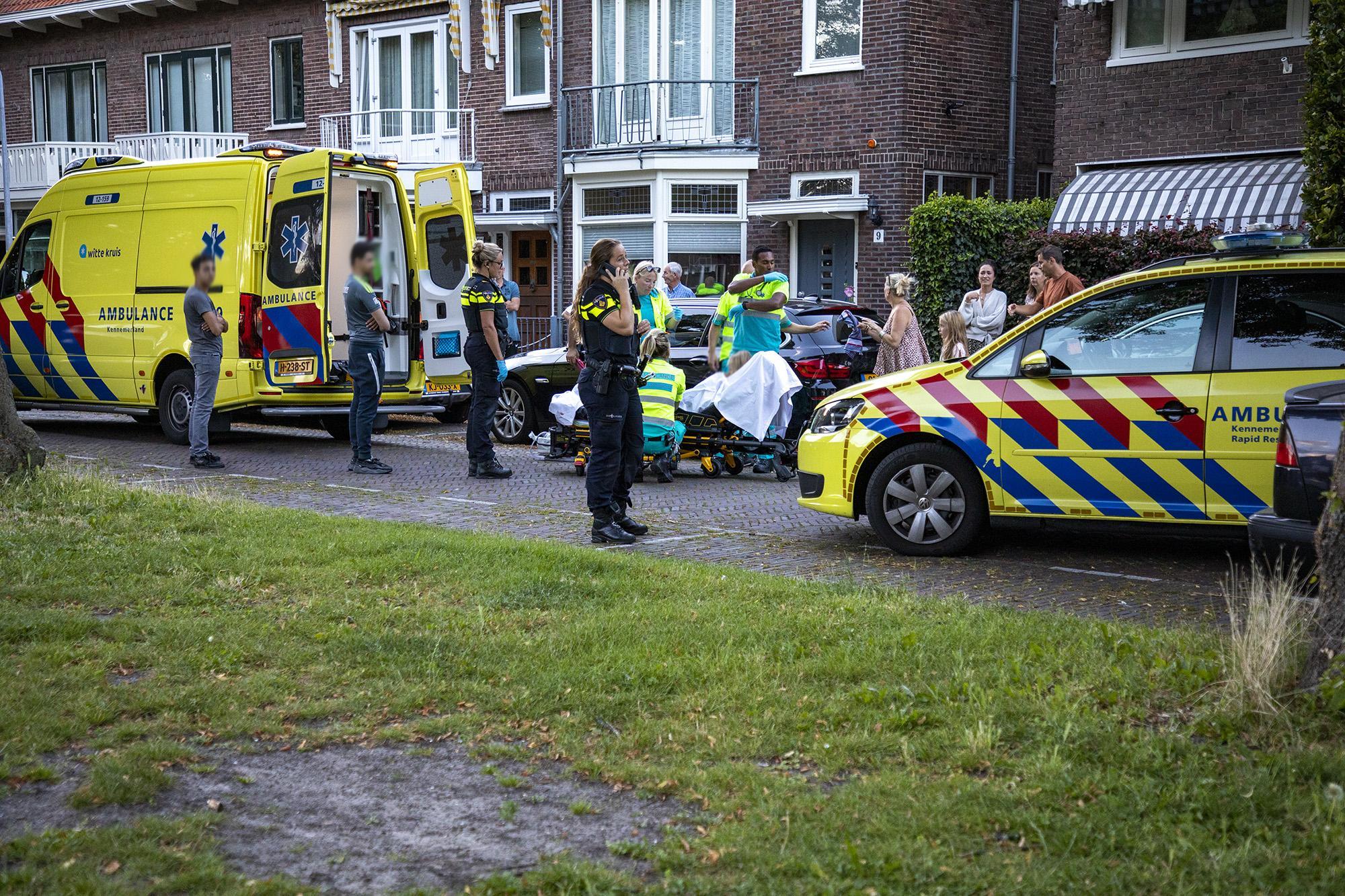 Meisje gewond bij verkeersongeval in Haarlem