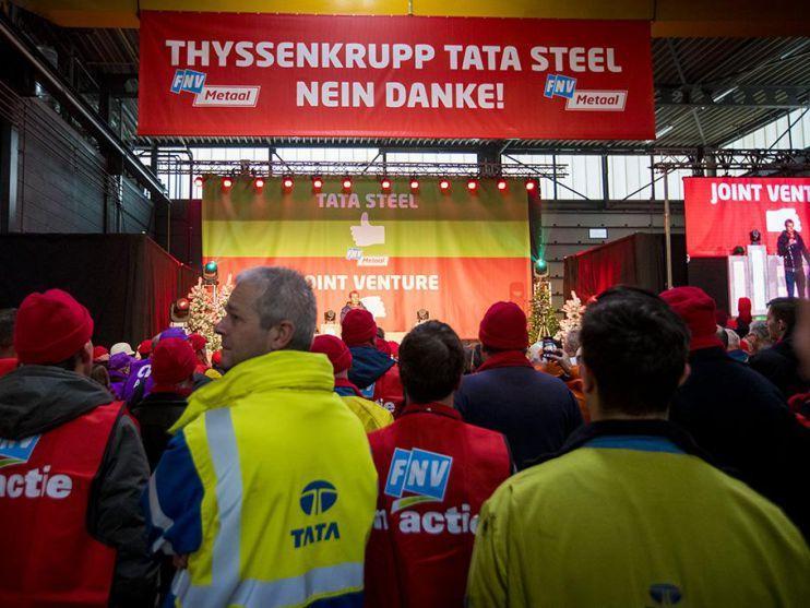 FNV Metaal eist werkgarantie van 10 jaar bij Tata Steel