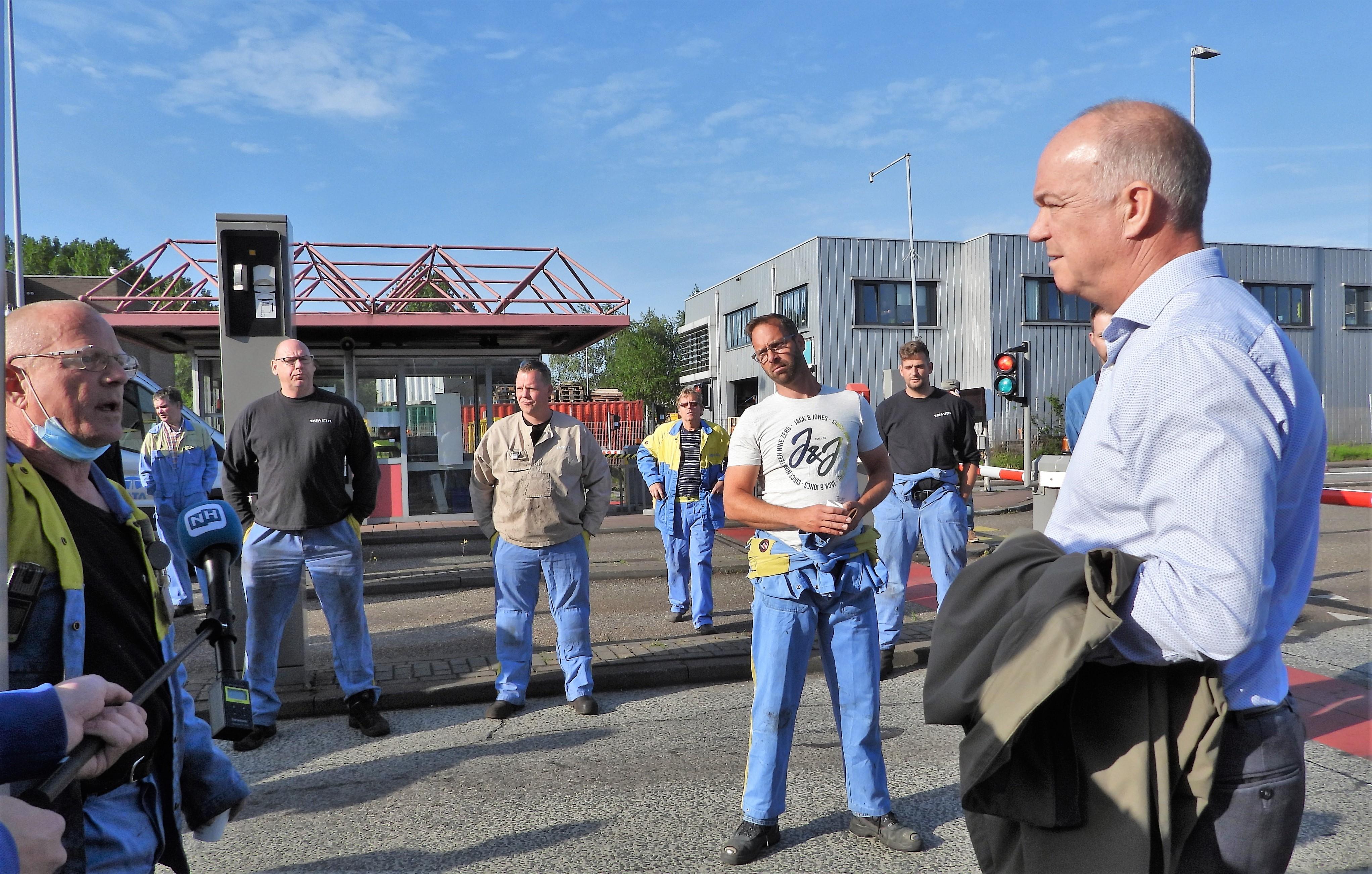 Nieuwe directievoorzitter Tata Steel is oude bekende: Hans van den Berg