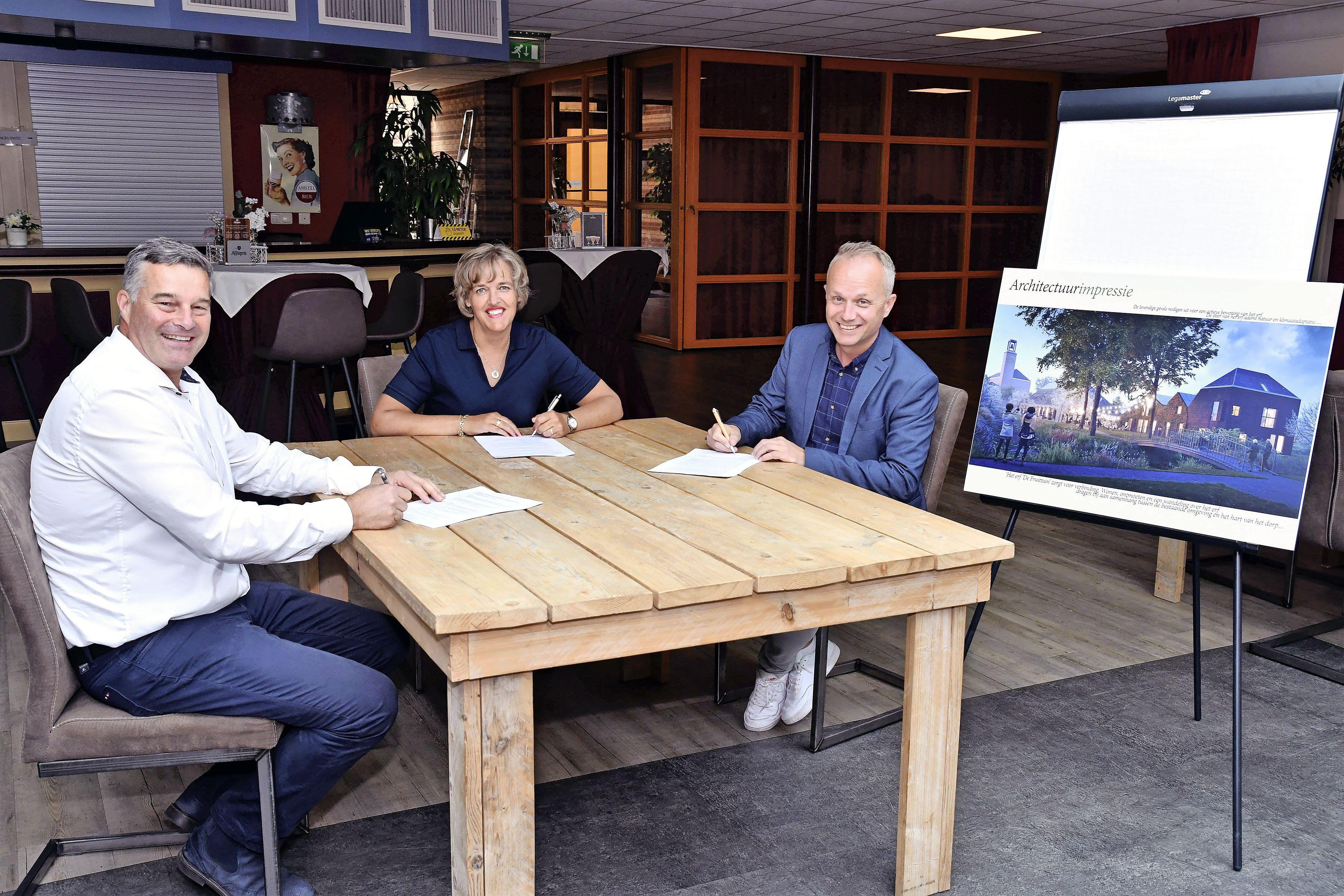 Bouwplan in de maak voor 16 nieuwe huizen in Venhuizen