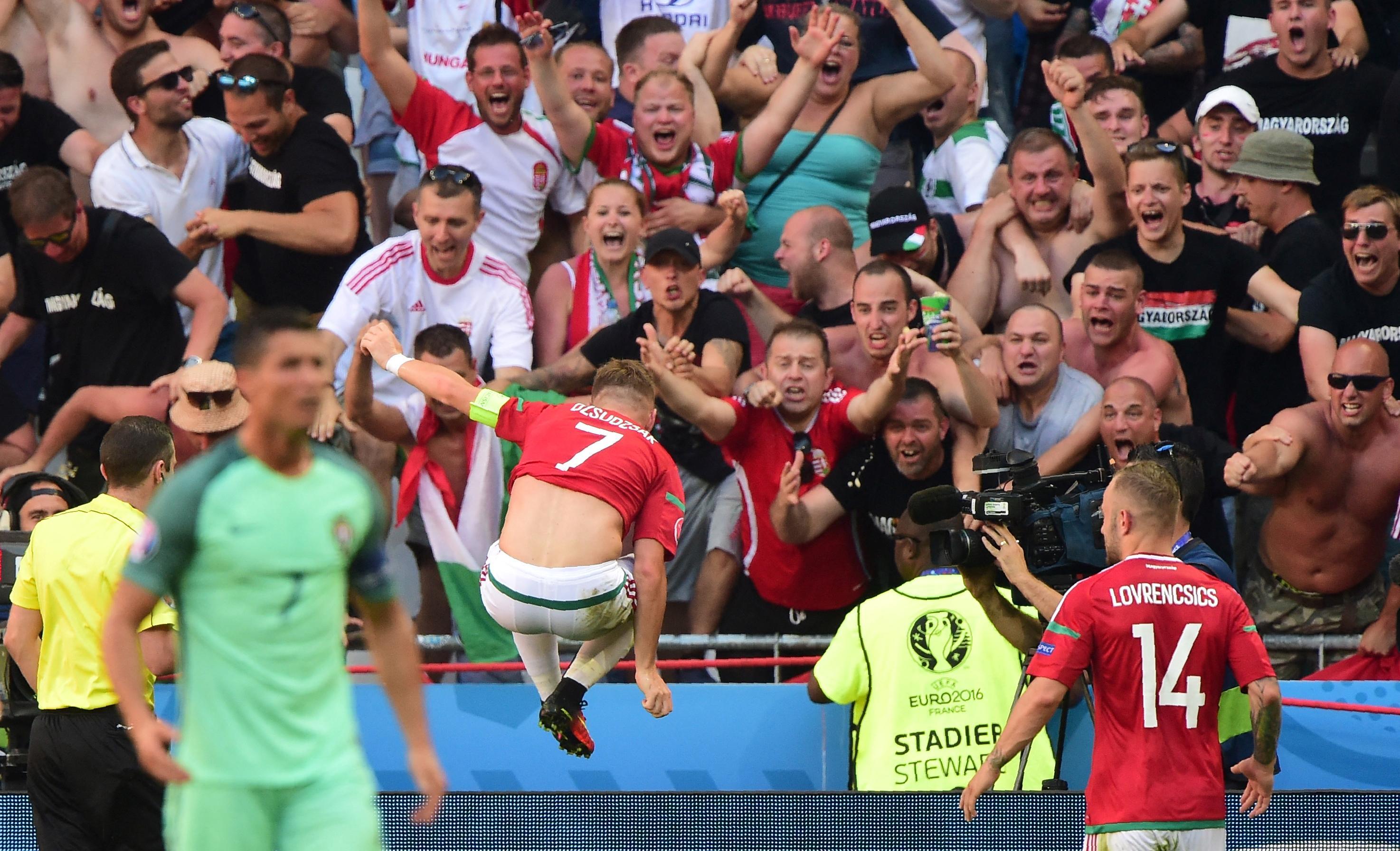 Als Duitsland van Hongarije wint, gaat Portugal waarschijnlijk door. Ronaldo en co weten sinds 2016 dat je de Hongaren nooit moet onderschatten